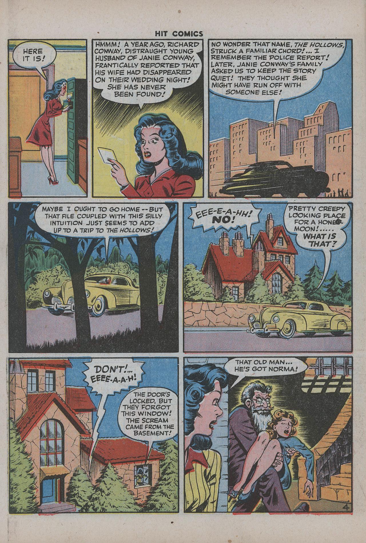 Read online Hit Comics comic -  Issue #38 - 57