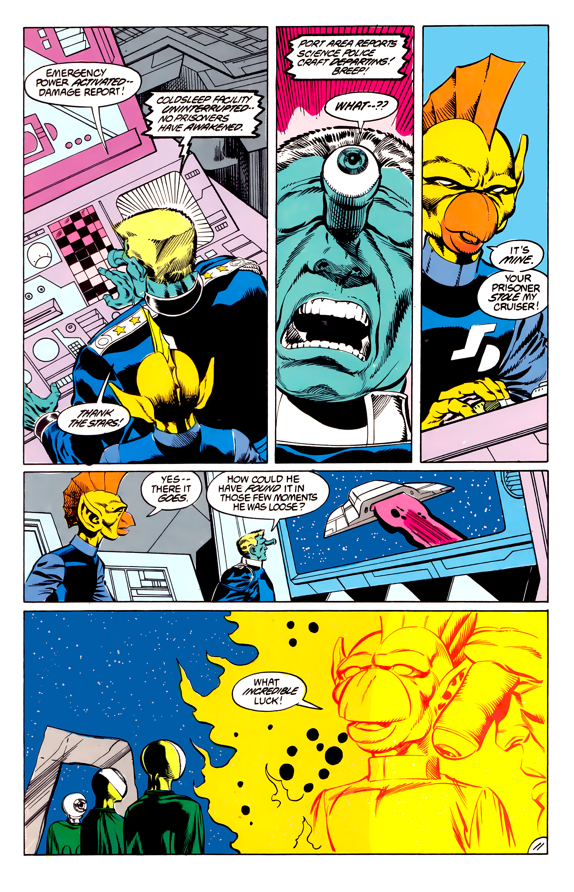 Legion of Super-Heroes (1984) 45 Page 11