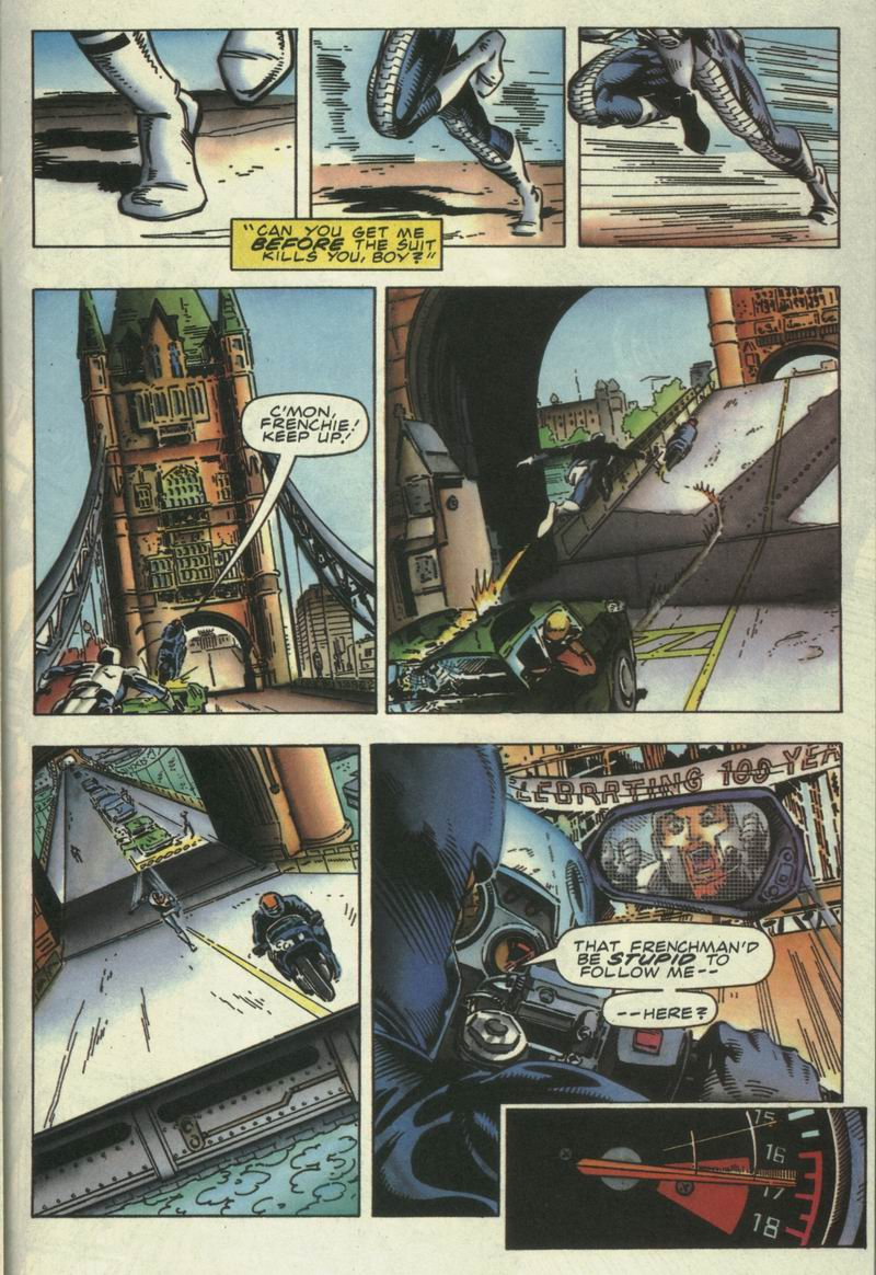 Read online Secret Weapons comic -  Issue #15 - 14
