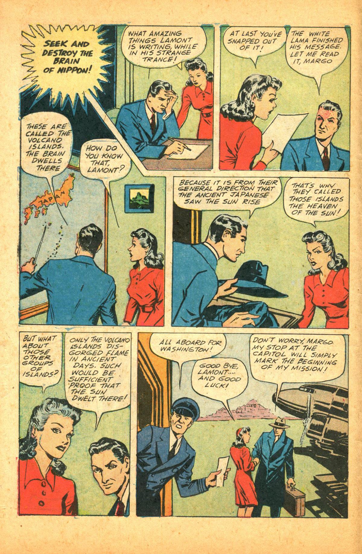 Read online Shadow Comics comic -  Issue #38 - 8