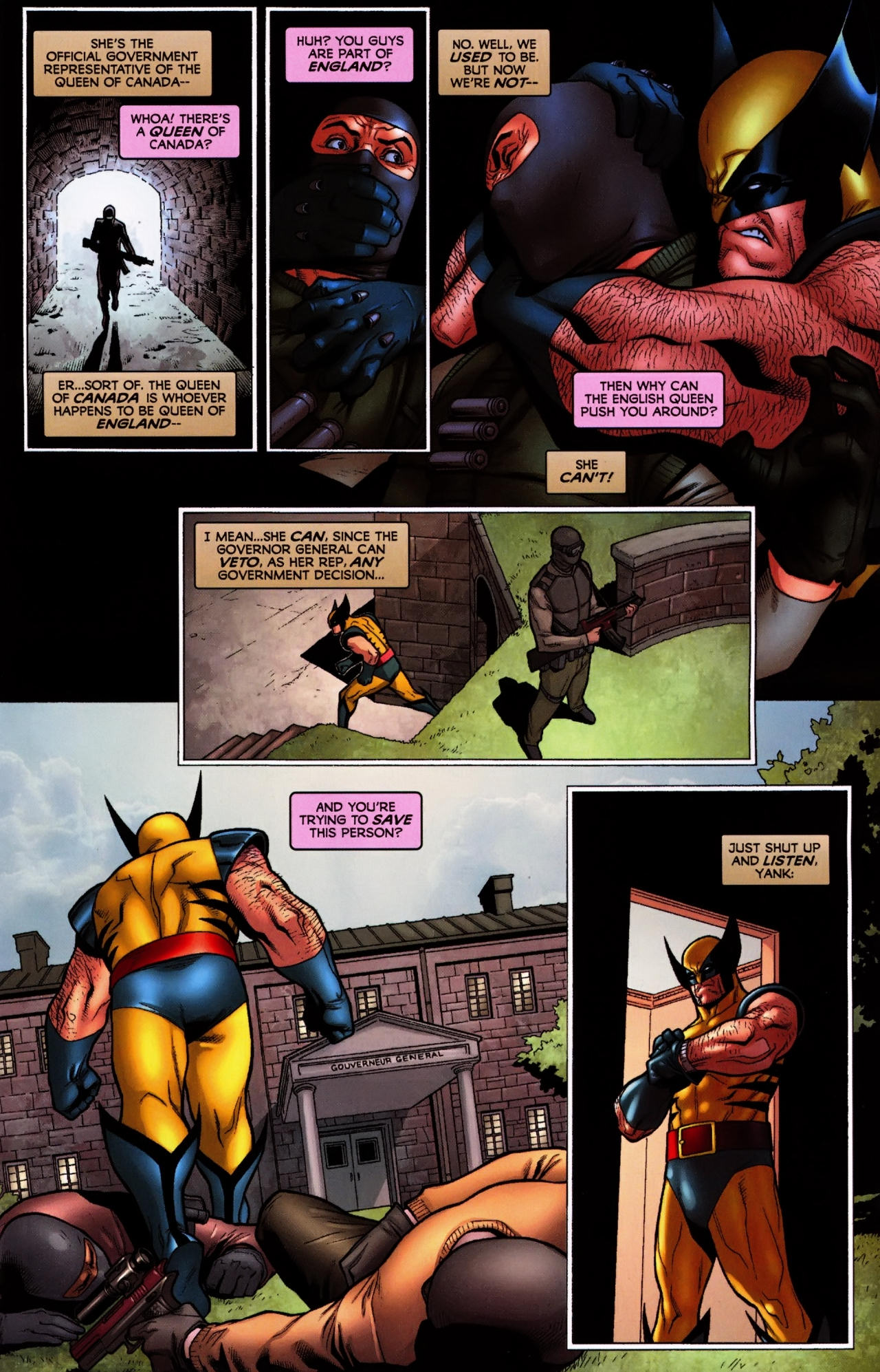 Read online Wolverine: First Class comic -  Issue #5 - 11