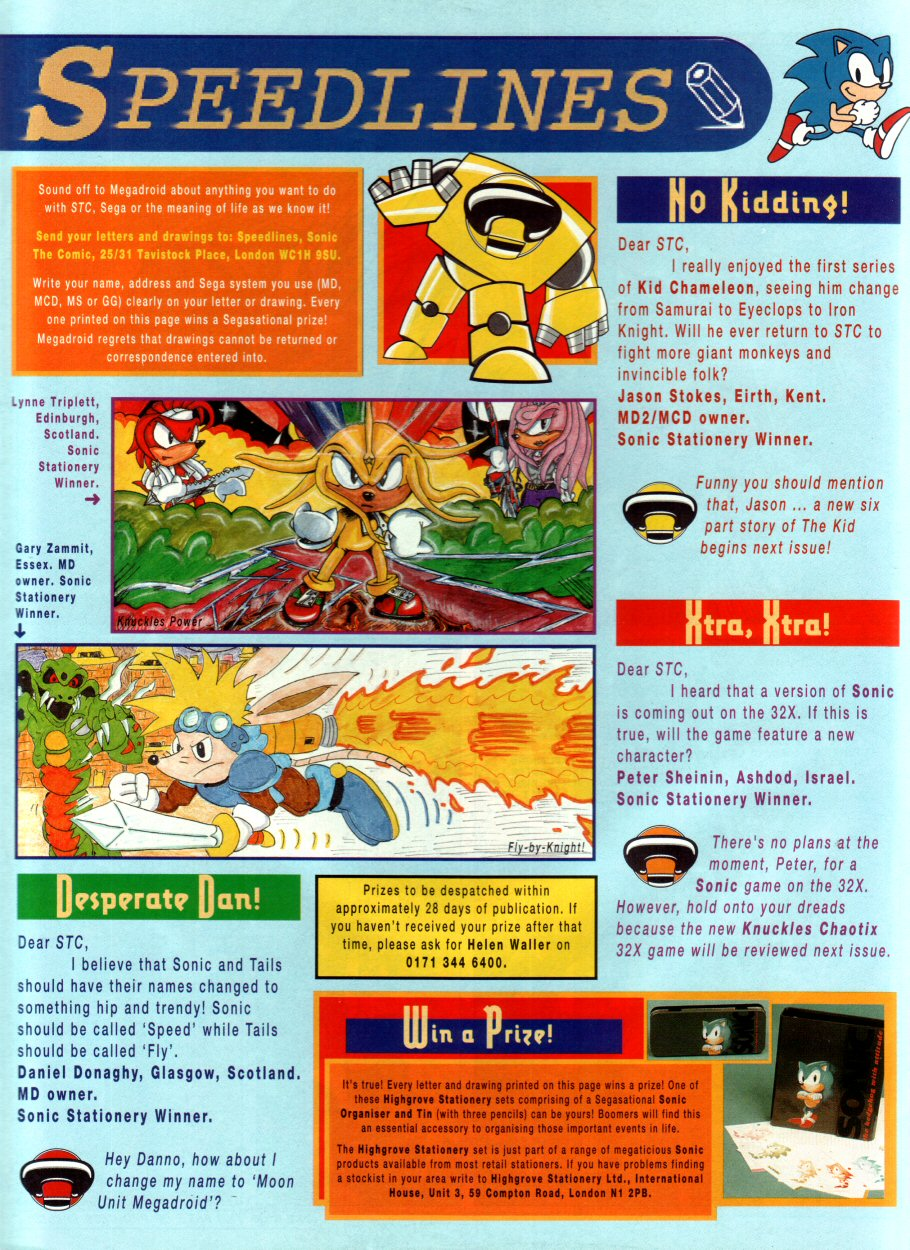 Read online Sonic the Comic comic -  Issue #53 - 30