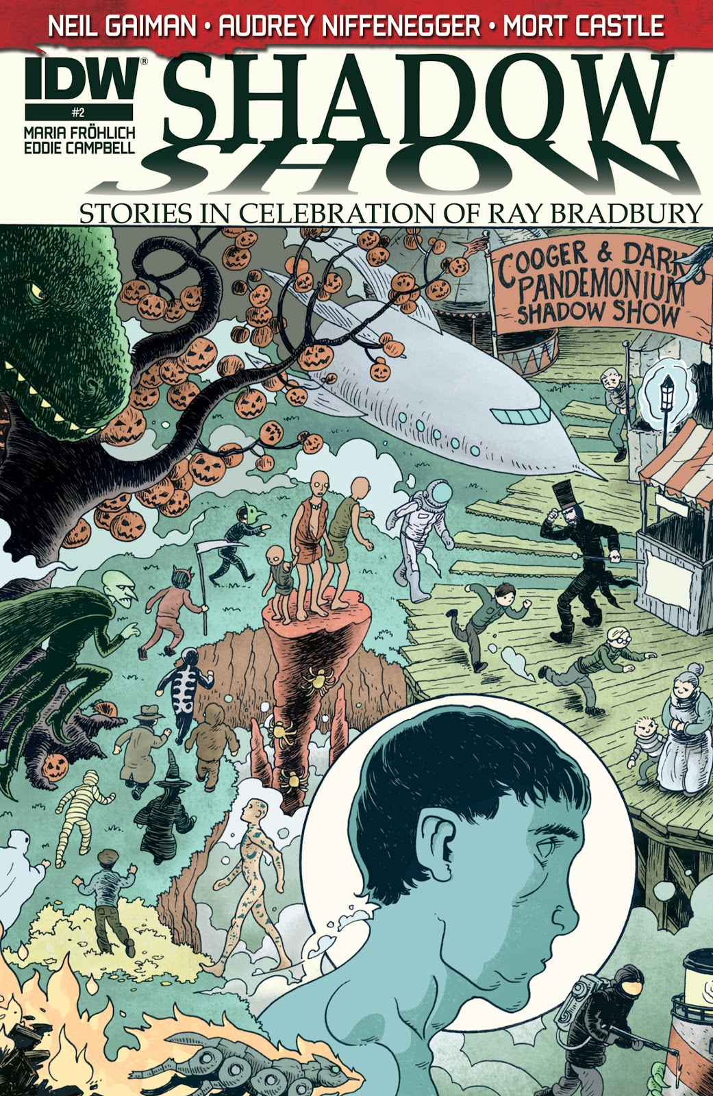 Read online Shadow Show: Stories in Celebration of Ray Bradbury comic -  Issue #2 - 1