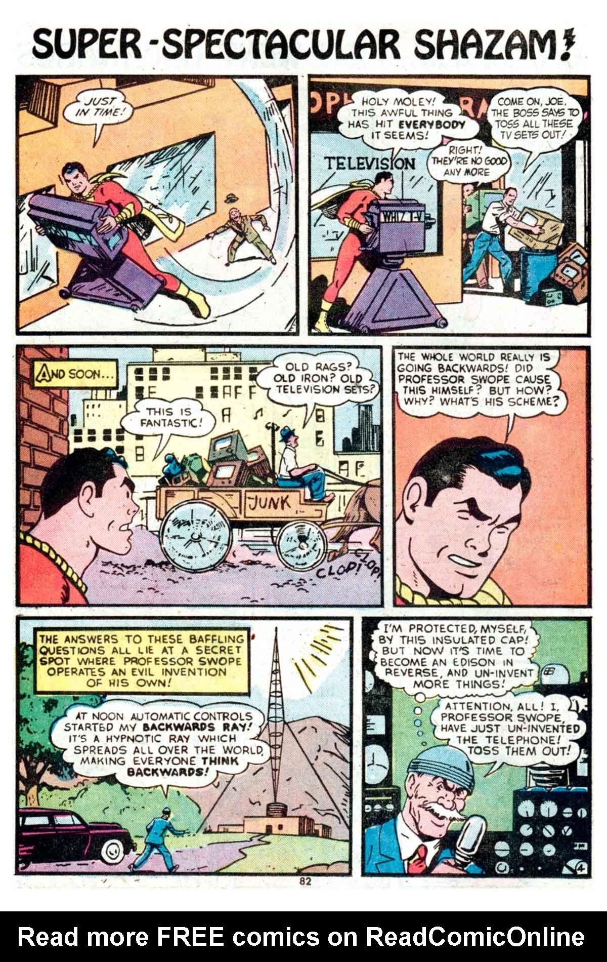 Read online Shazam! (1973) comic -  Issue #15 - 82