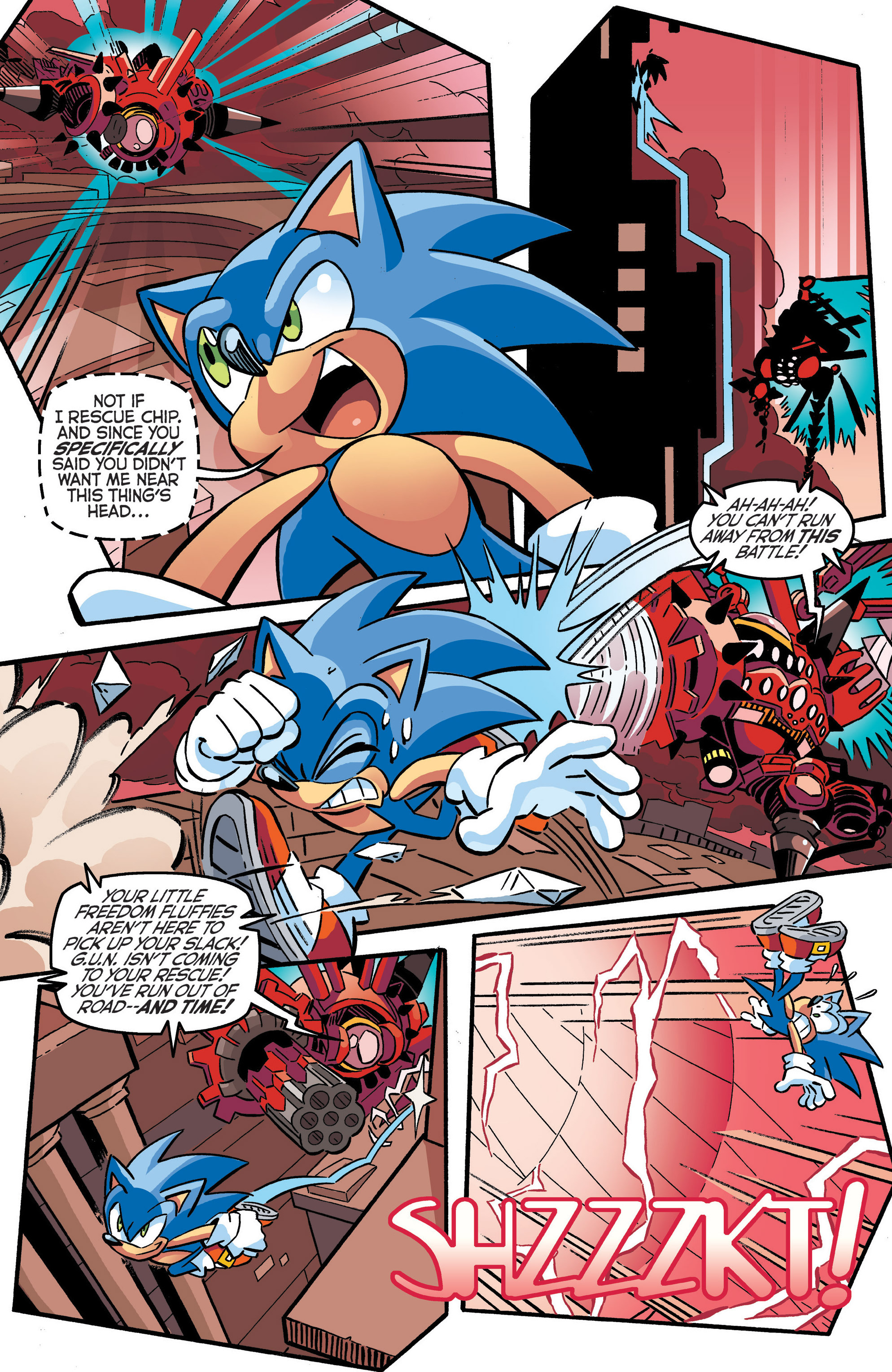 Read online Sonic The Hedgehog comic -  Issue #286 - 5