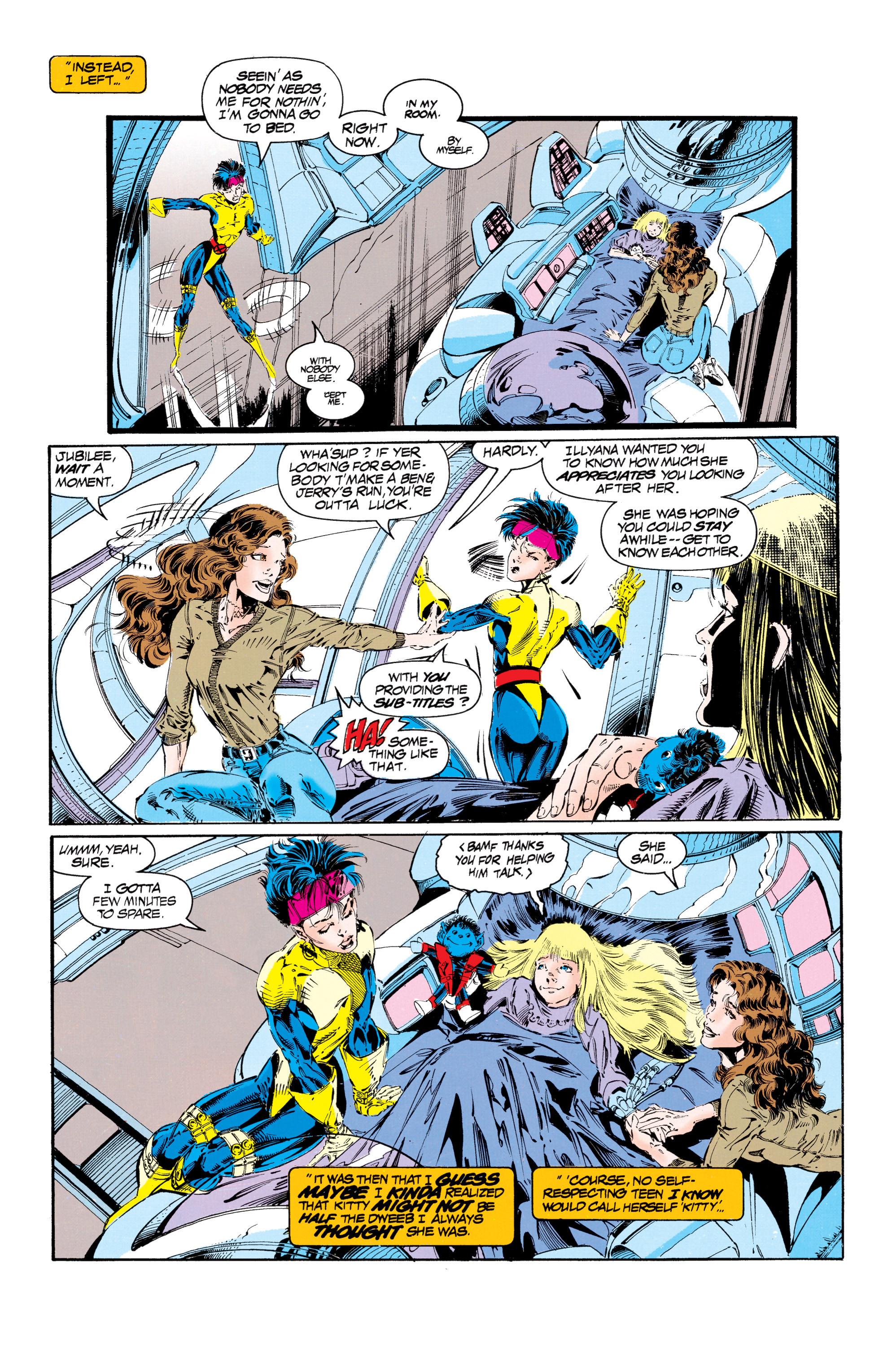Read online Uncanny X-Men (1963) comic -  Issue #303 - 12