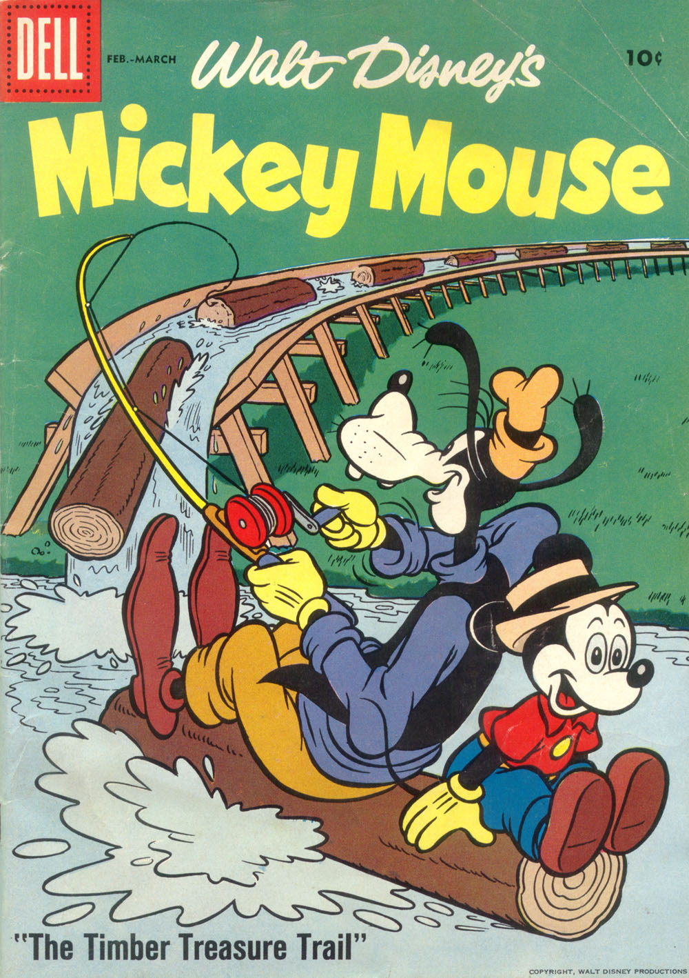 Walt Disney's Mickey Mouse issue 58 - Page 1