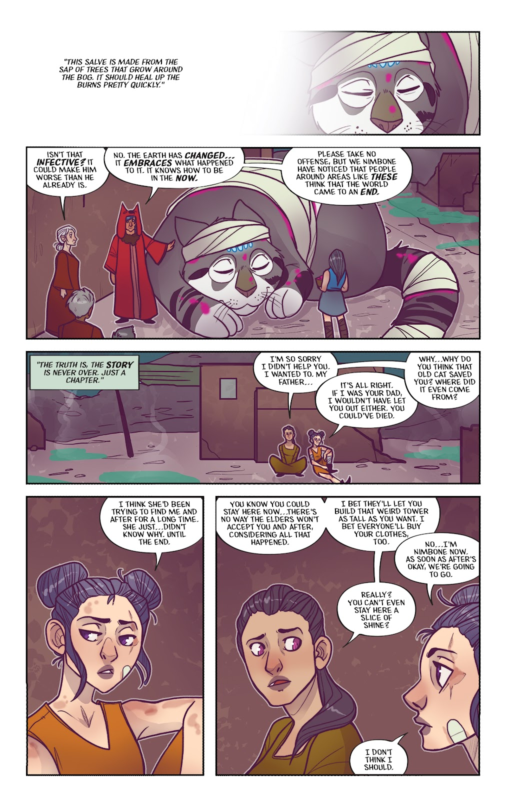 Read online Afterglow comic -  Issue #3 - 22