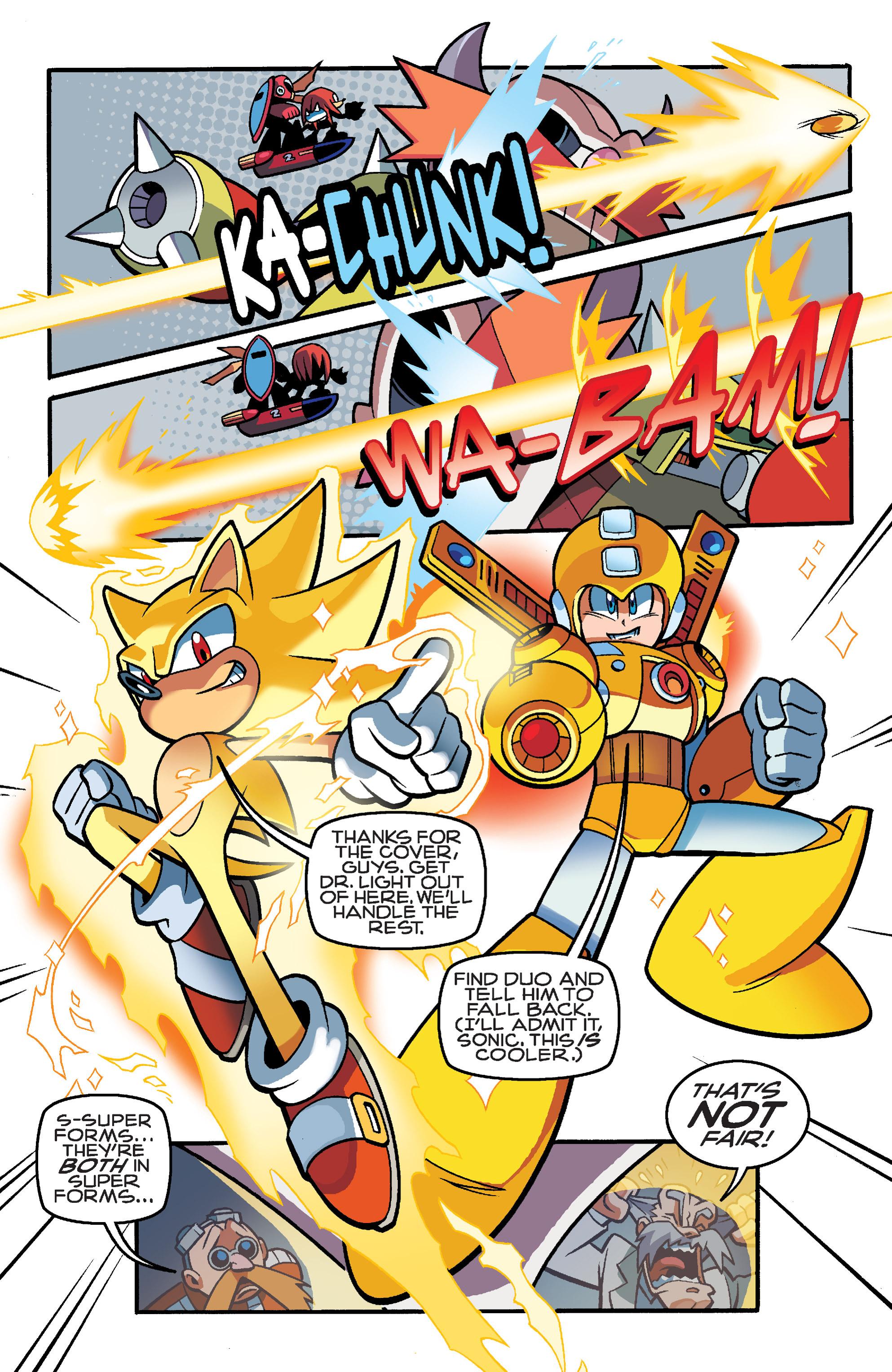 Read online Sonic Mega Man Worlds Collide comic -  Issue # Vol 3 - 108