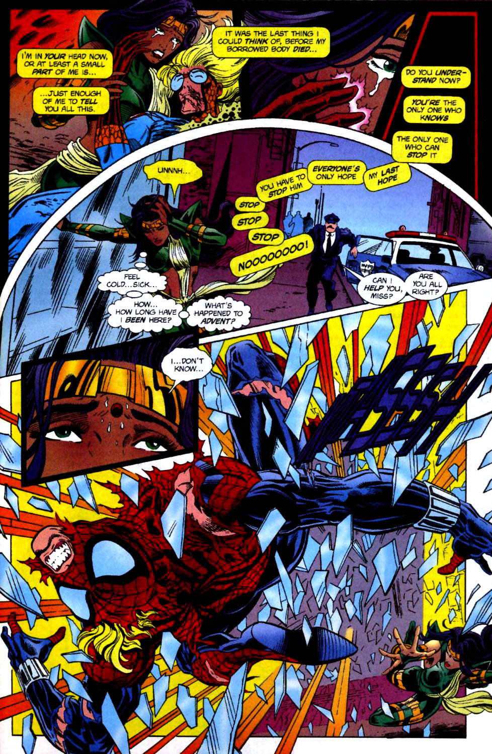 The New Warriors Issue #70 #74 - English 18