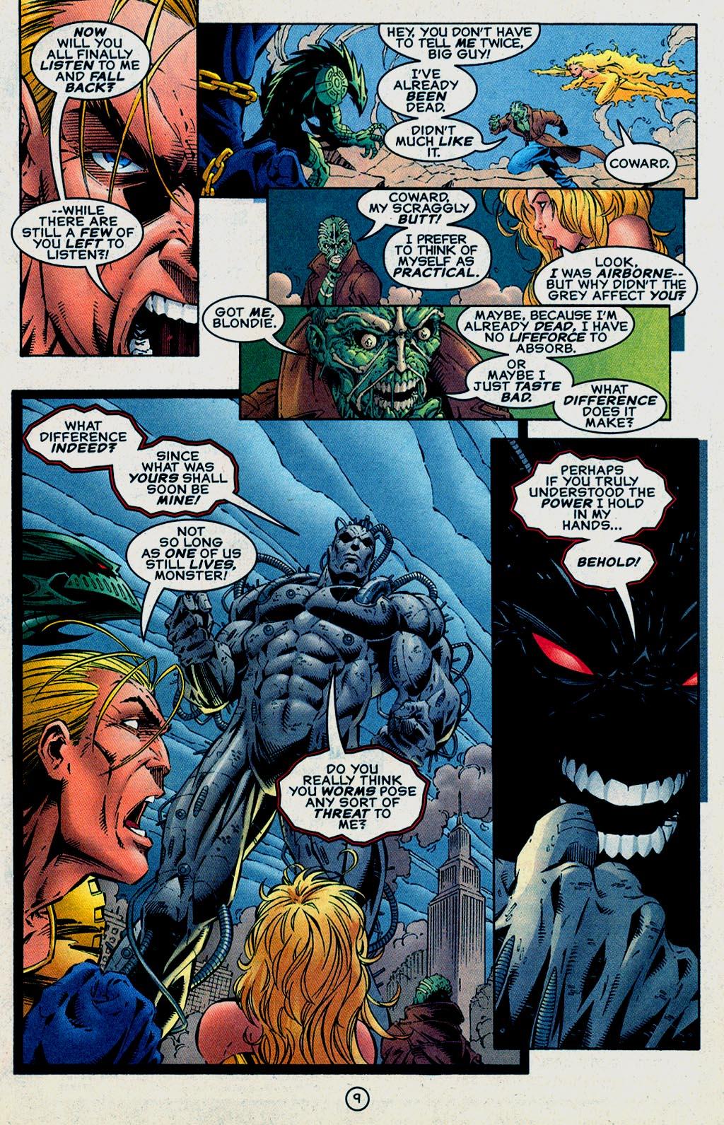Read online UltraForce (1995) comic -  Issue #15 - 10