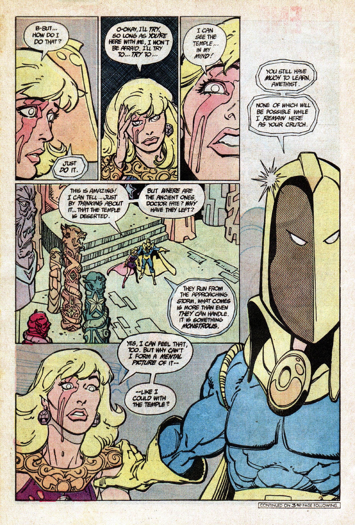 Read online Amethyst (1985) comic -  Issue #13 - 28