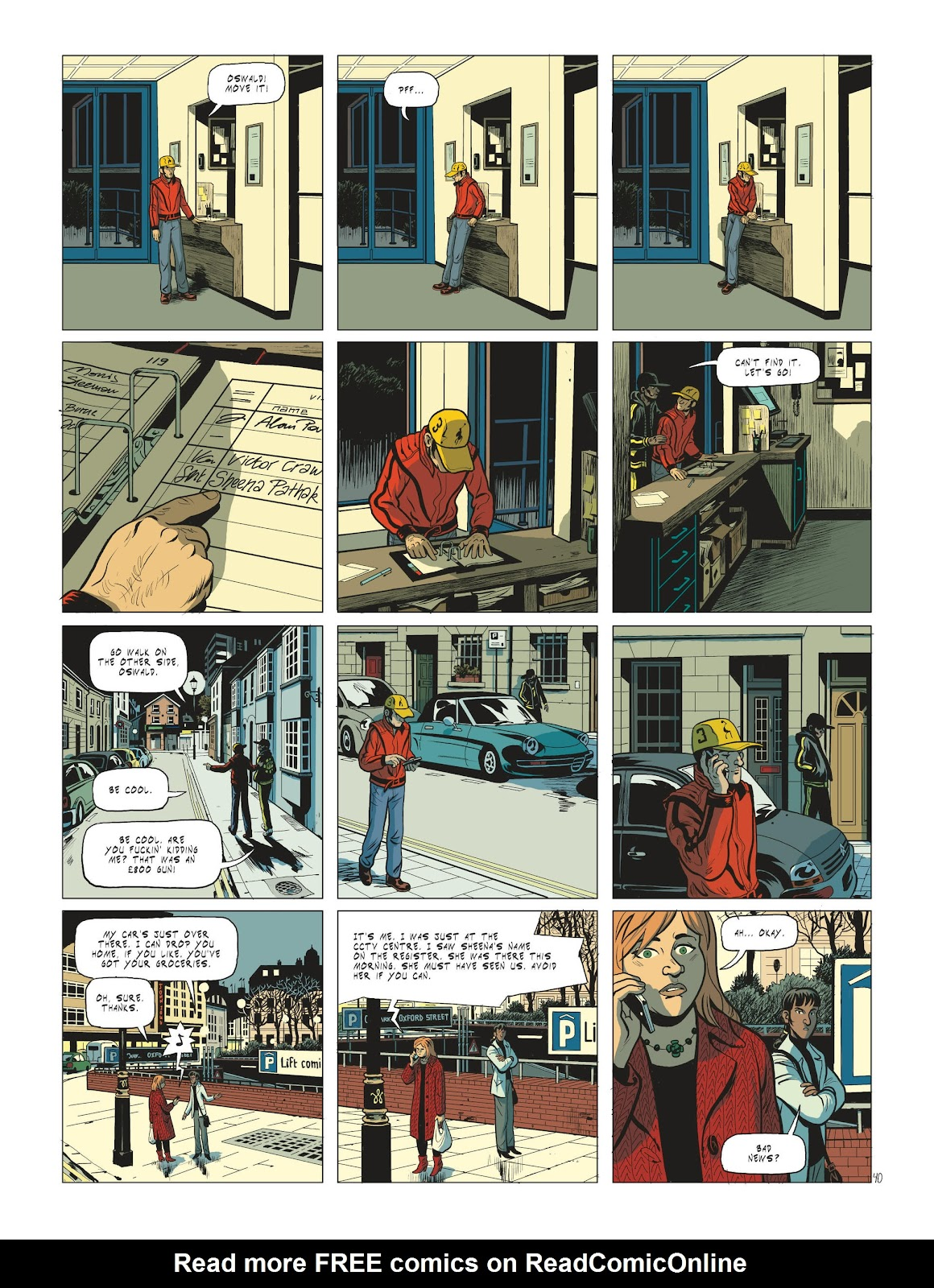 Read online Maggy Garrisson comic -  Issue #2 - 42