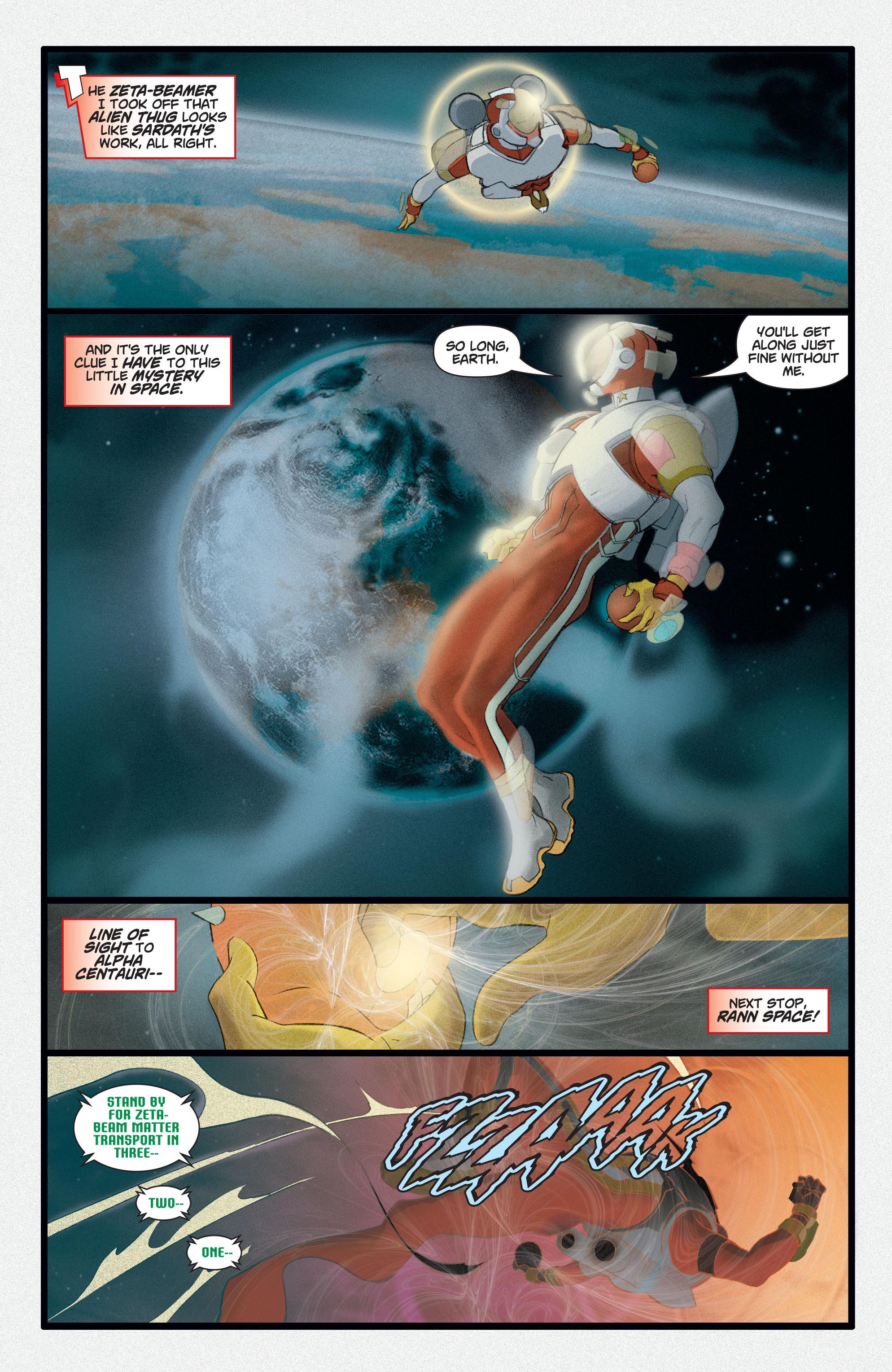Read online Adam Strange (2004) comic -  Issue #2 - 18