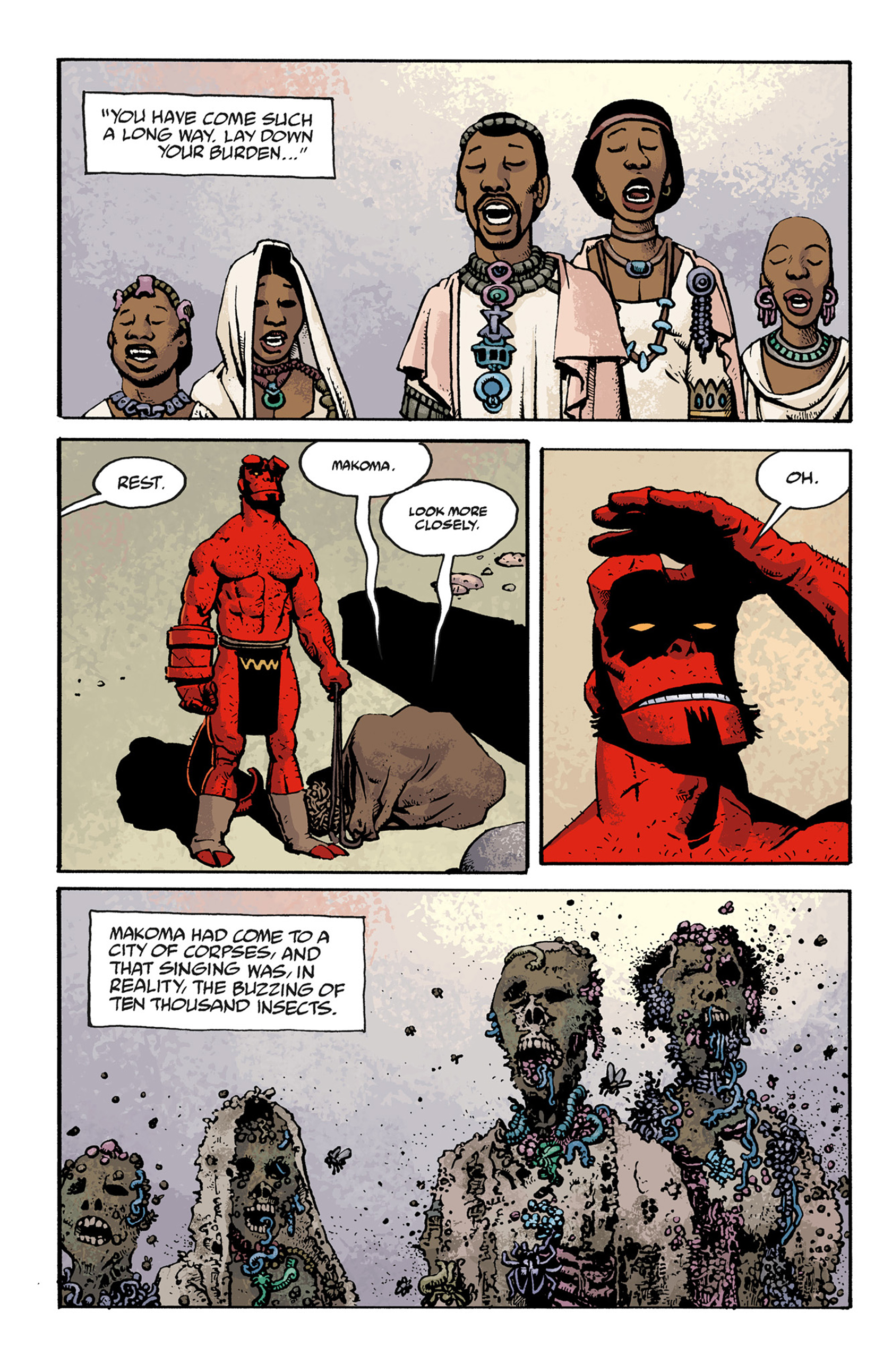 Read online Hellboy: The Troll Witch and Others comic -  Issue # TPB - 110