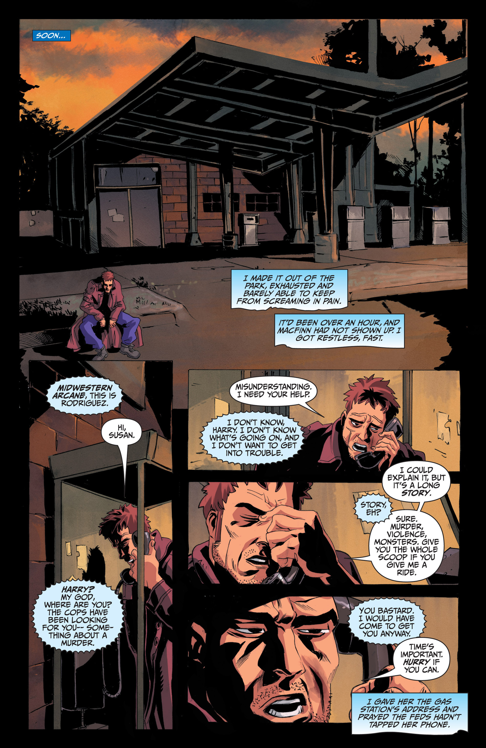 Read online Jim Butcher's The Dresden Files: Fool Moon comic -  Issue #4 - 21