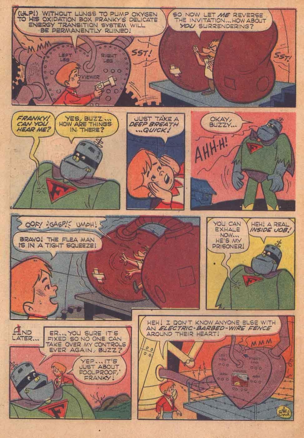 Read online Frankenstein, Jr. comic -  Issue # Full - 34