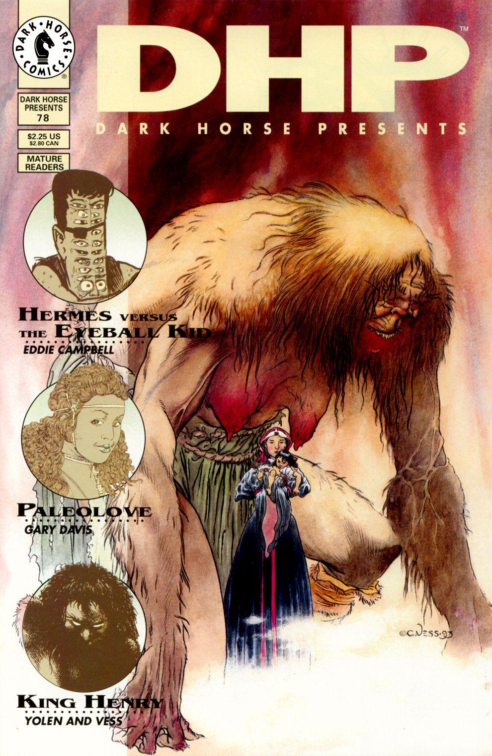 Dark Horse Presents (1986) 78 Page 1