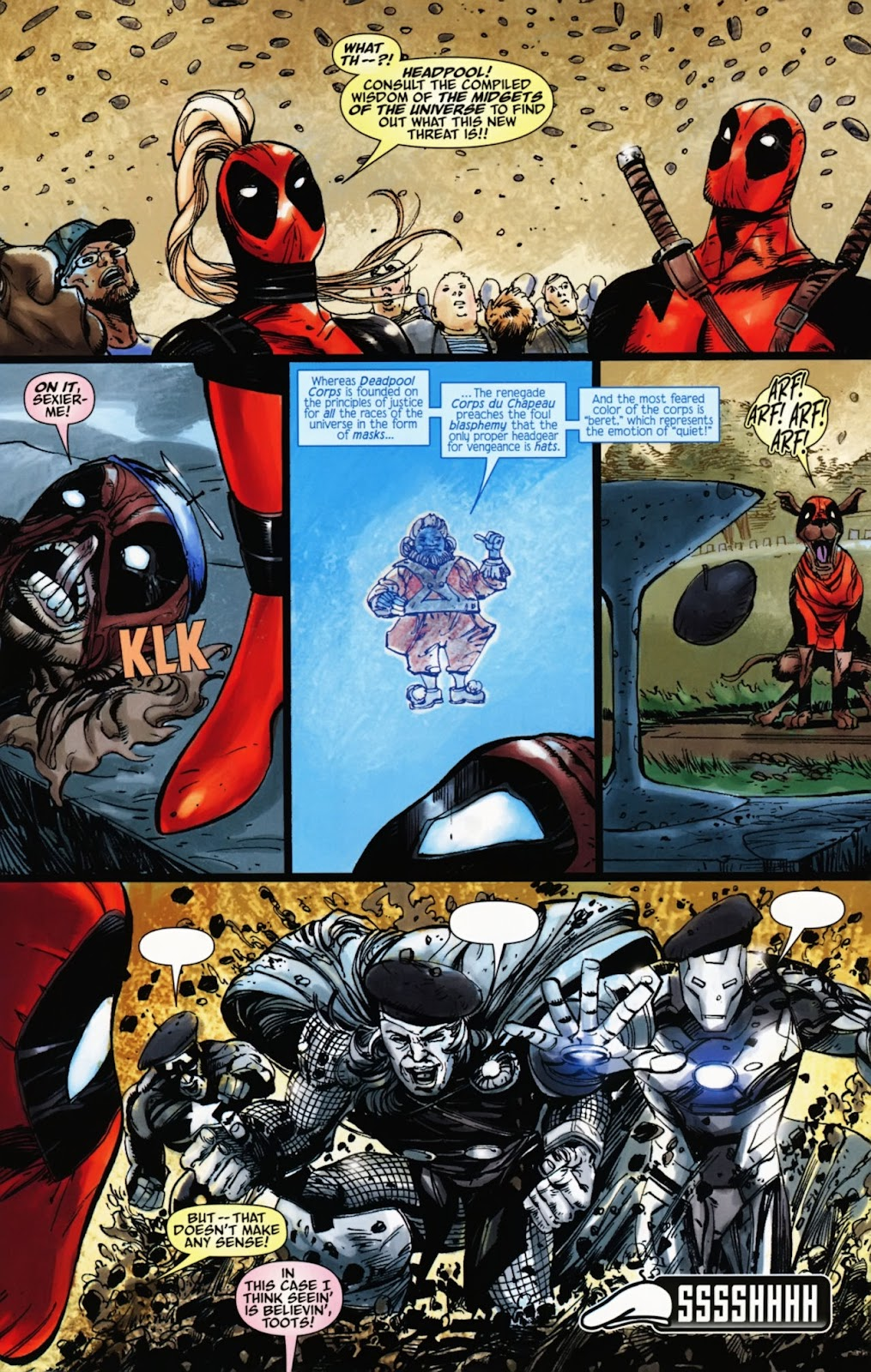 Read online Deadpool (2008) comic -  Issue #1000 - 37