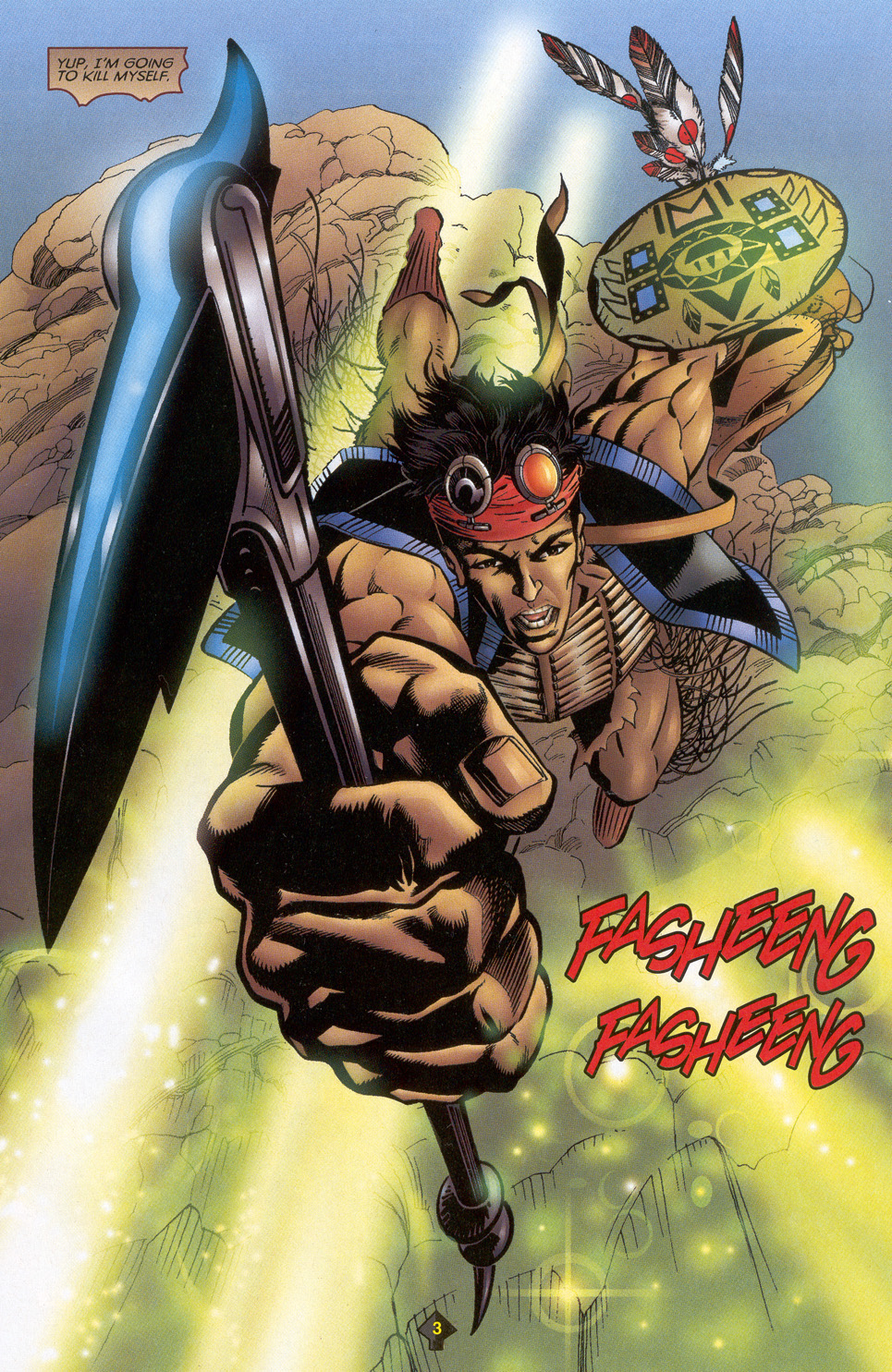 Read online Turok: Redpath comic -  Issue # Full - 4
