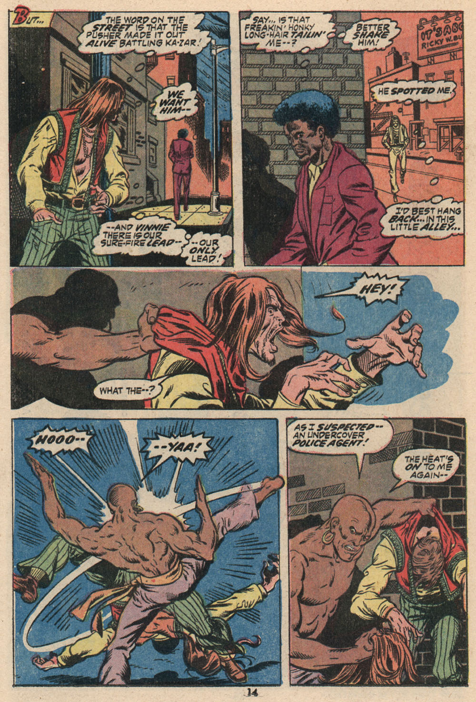 Read online Astonishing Tales (1970) comic -  Issue #16 - 11