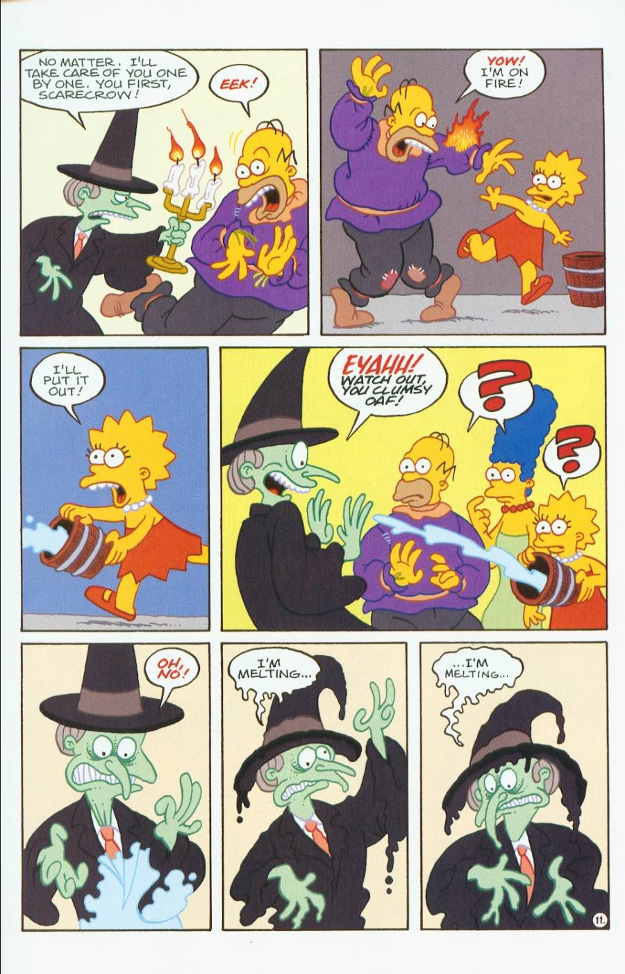 Read online Treehouse of Horror comic -  Issue #7 - 24