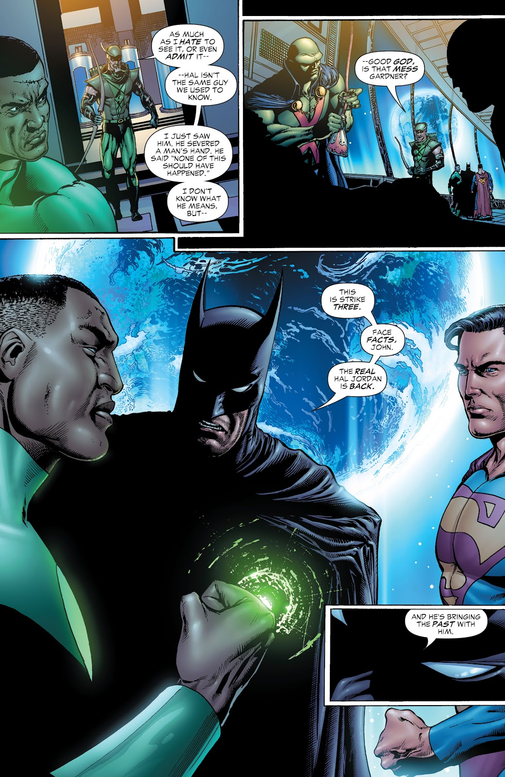 Read online Green Lantern by Geoff Johns comic -  Issue # TPB 1 (Part 1) - 39