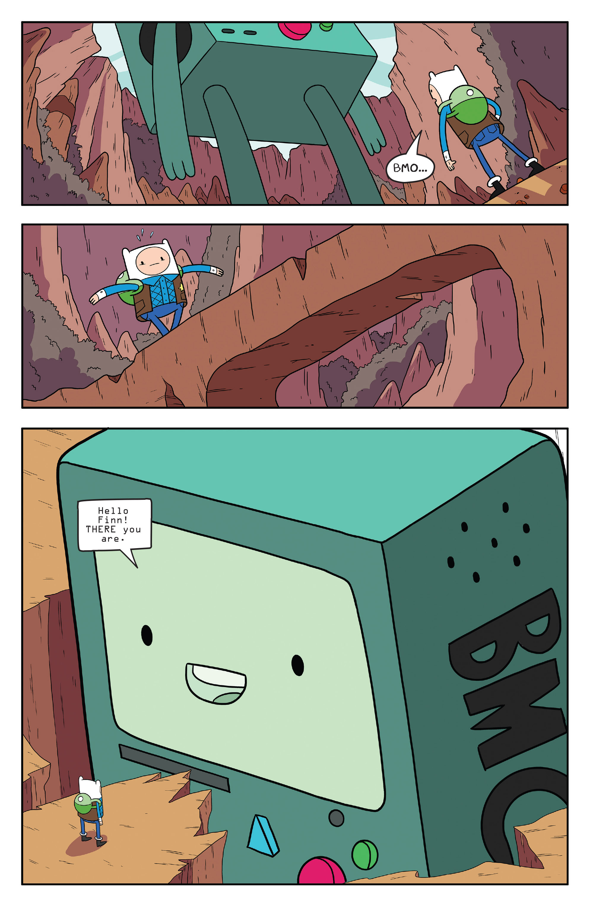 Read online Adventure Time comic -  Issue #55 - 20