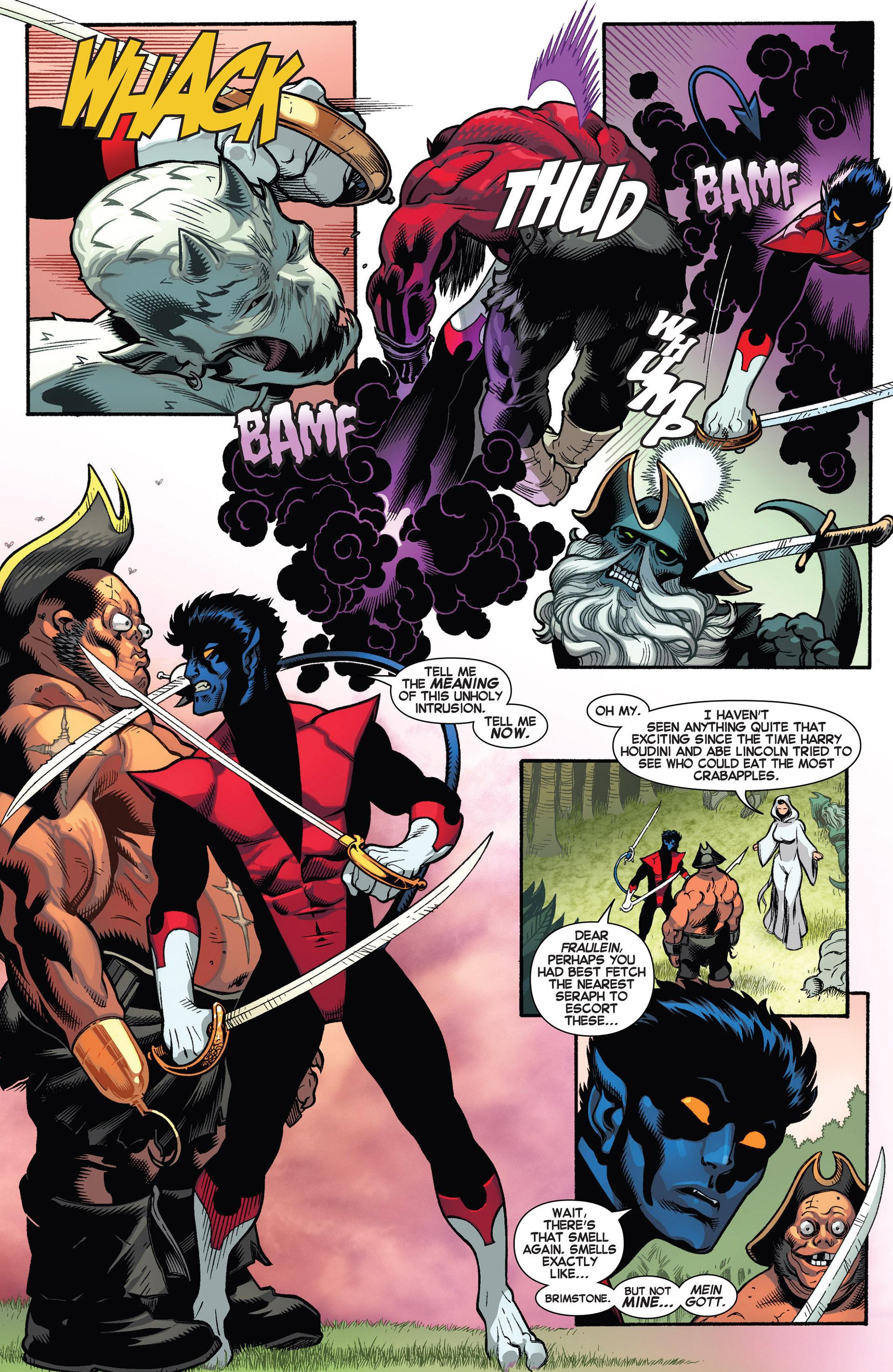 Read online Amazing X-Men (2014) comic -  Issue #1 - 9