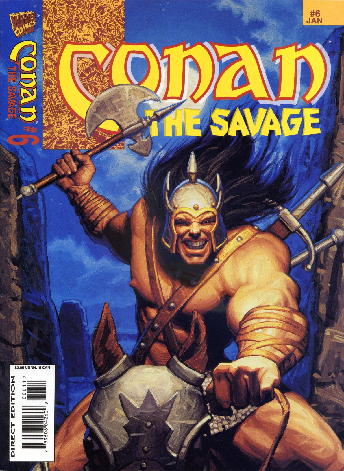 Conan the Savage 6 Page 1