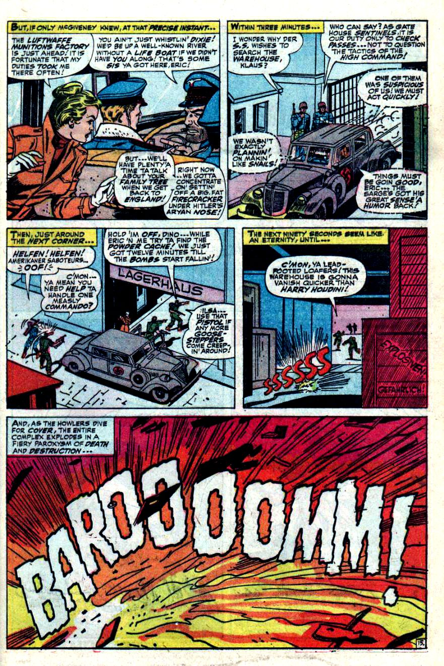 Read online Sgt. Fury comic -  Issue #42 - 21