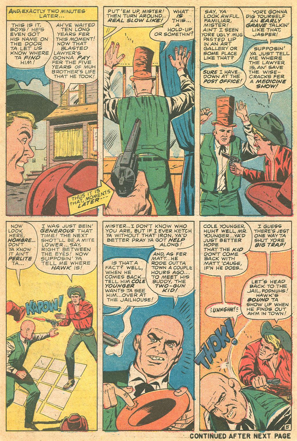 Read online Two-Gun Kid comic -  Issue #86 - 7