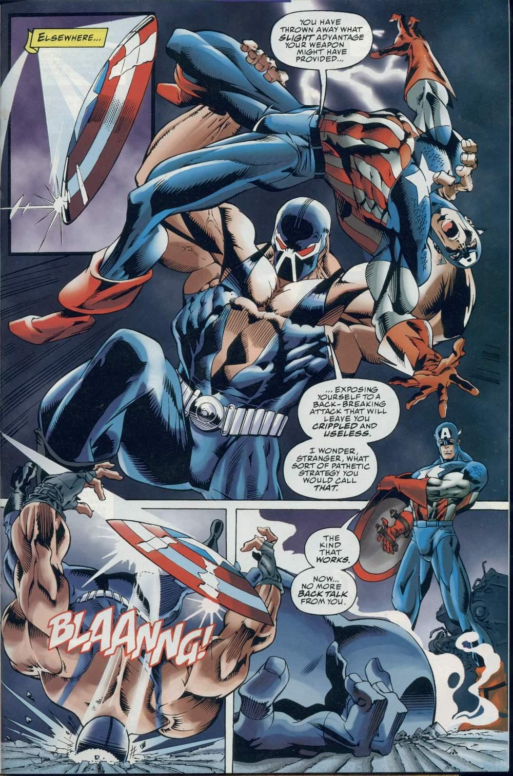 Read online DC Versus Marvel Comics comic -  Issue #2 - 9