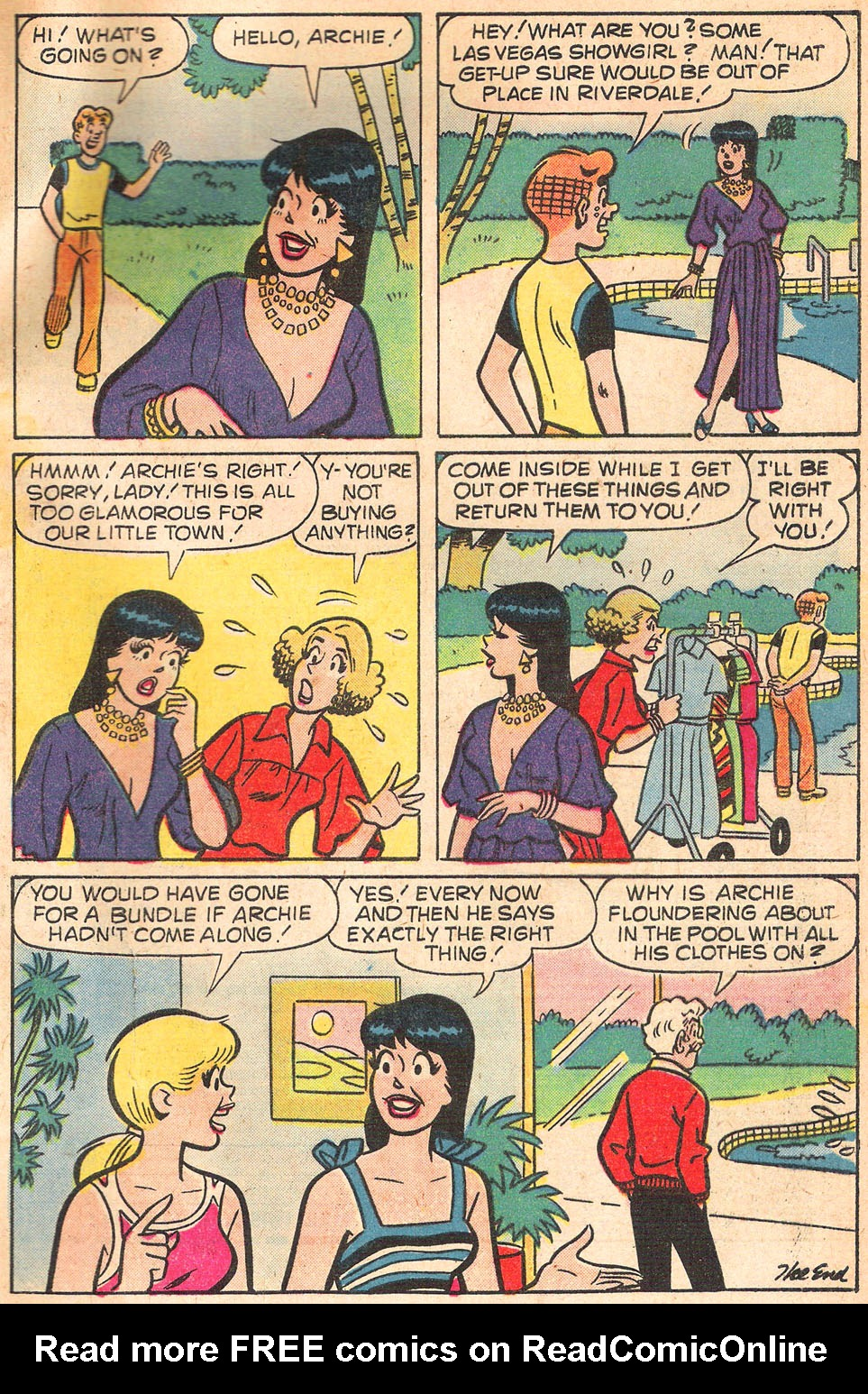 Read online Archie's Girls Betty and Veronica comic -  Issue #274 - 33