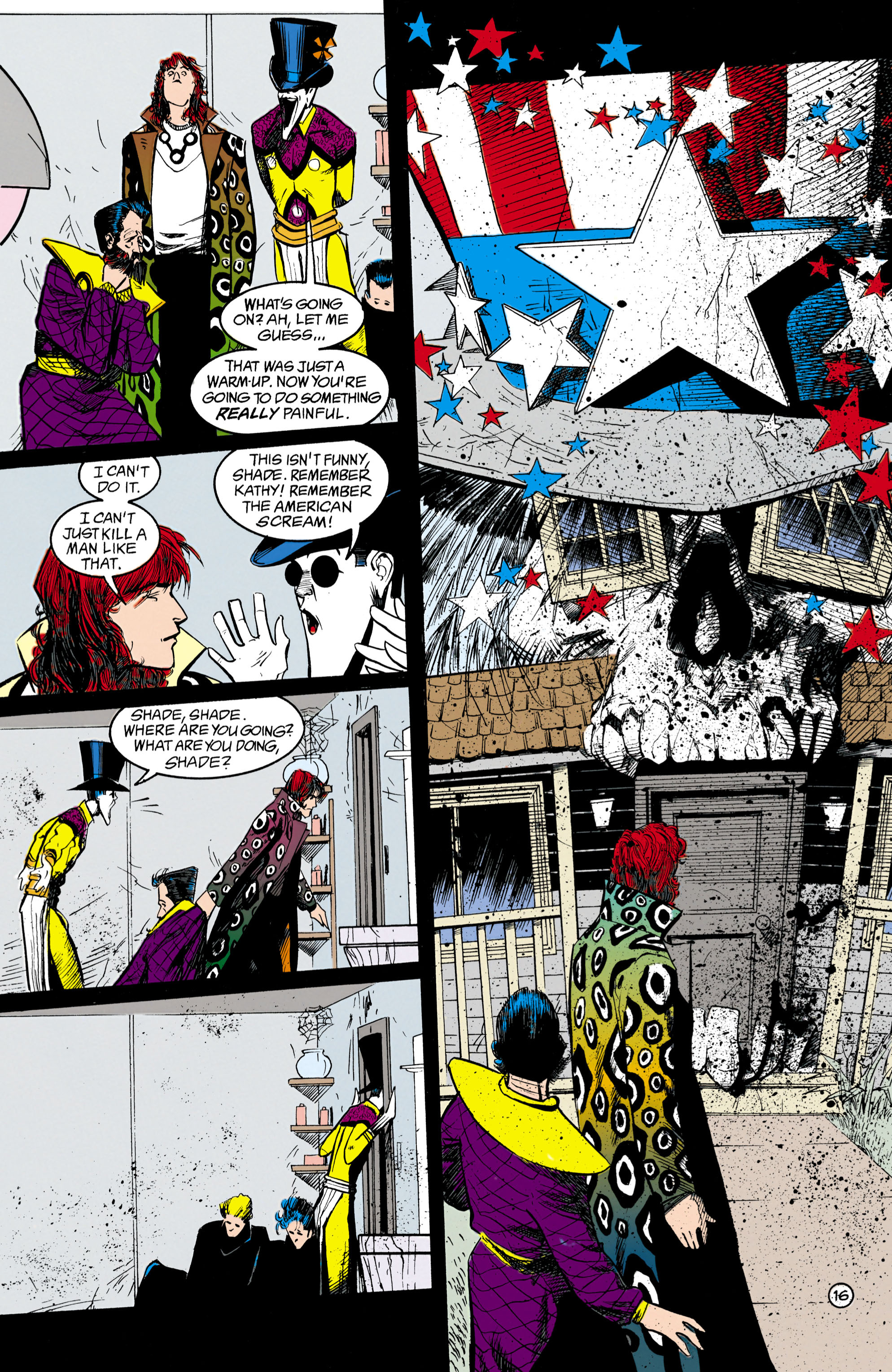 Read online Shade, the Changing Man comic -  Issue #18 - 16
