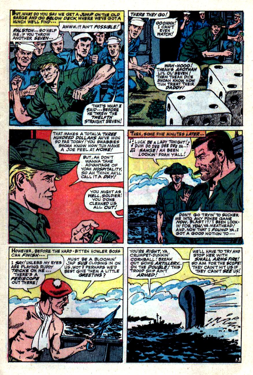 Read online Sgt. Fury comic -  Issue #49 - 5