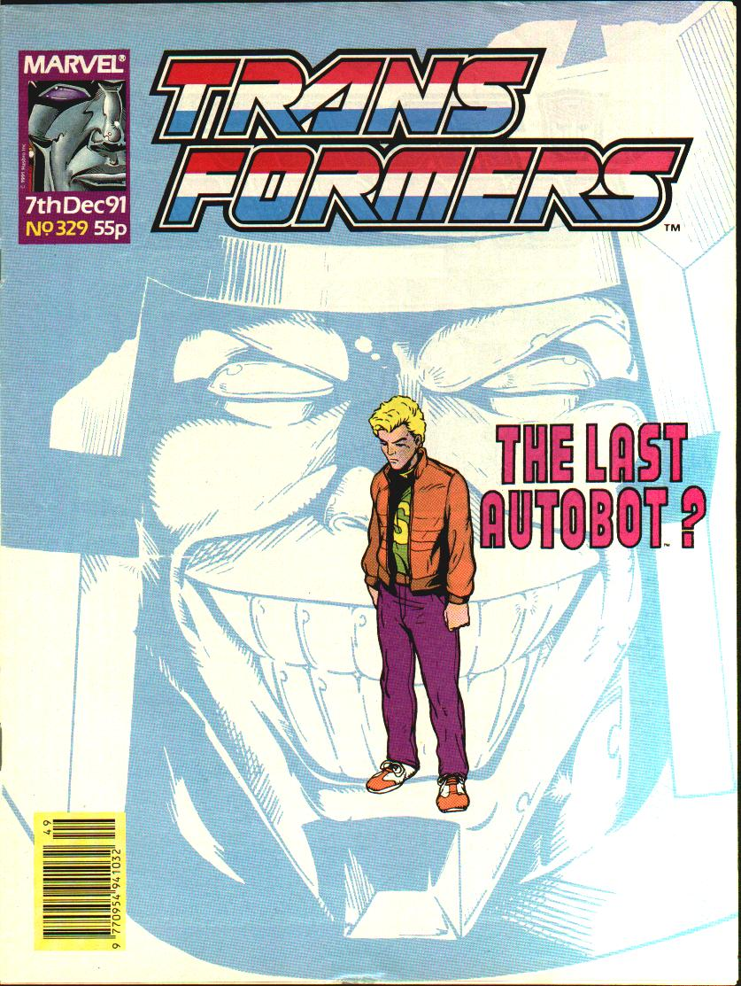 The Transformers (UK) 329 Page 1