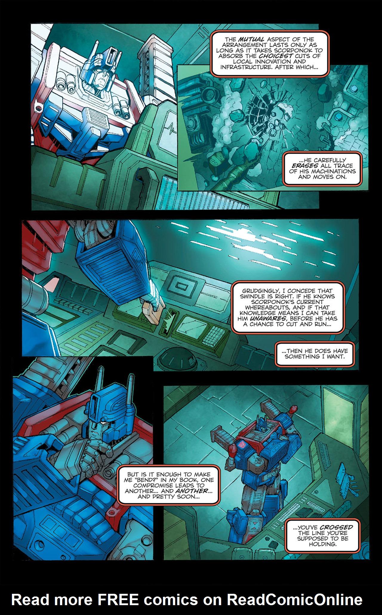 Read online Transformers Spotlight: Ultra Magnus comic -  Issue # Full - 11
