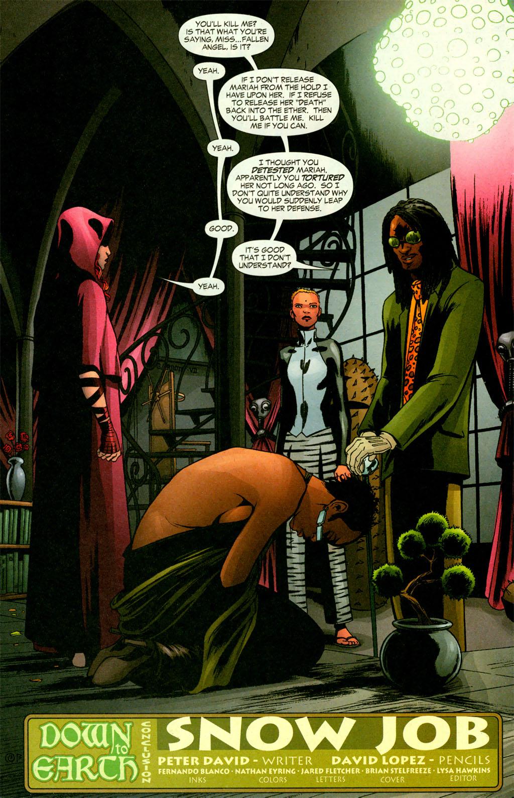 Read online Fallen Angel (2003) comic -  Issue #11 - 6