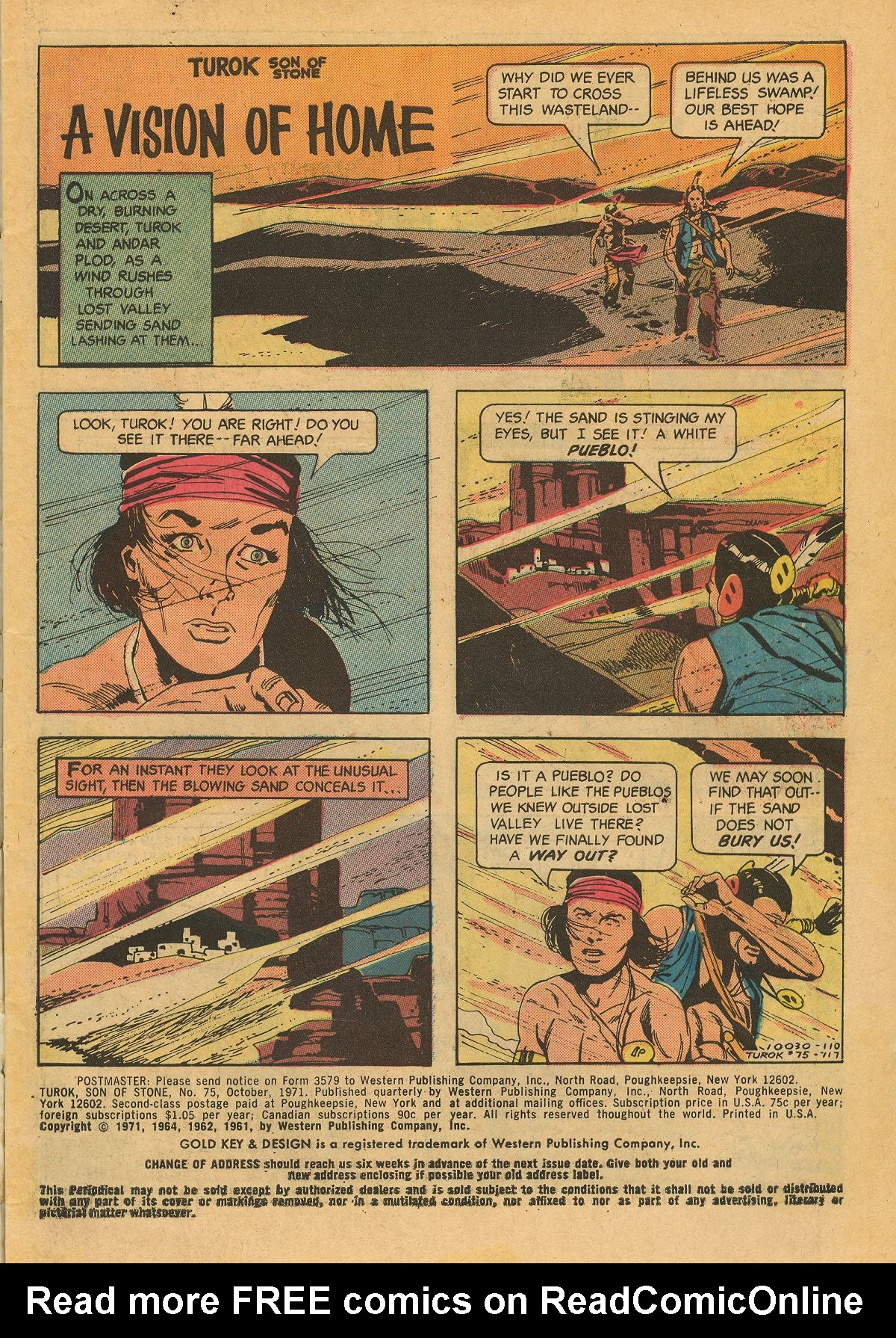 Read online Turok, Son of Stone comic -  Issue #75 - 3