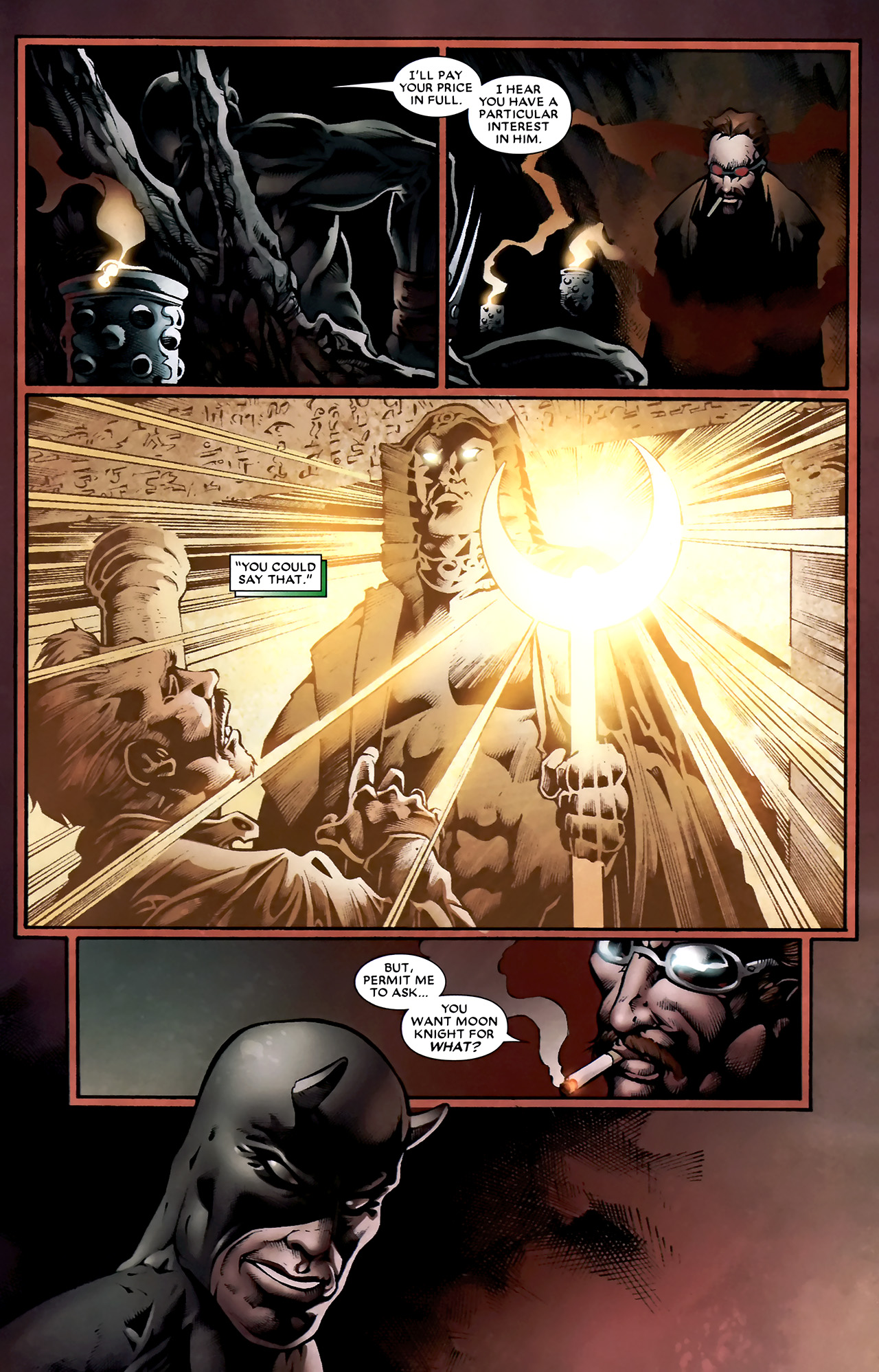 Read online Shadowland: Moon Knight comic -  Issue #1 - 11
