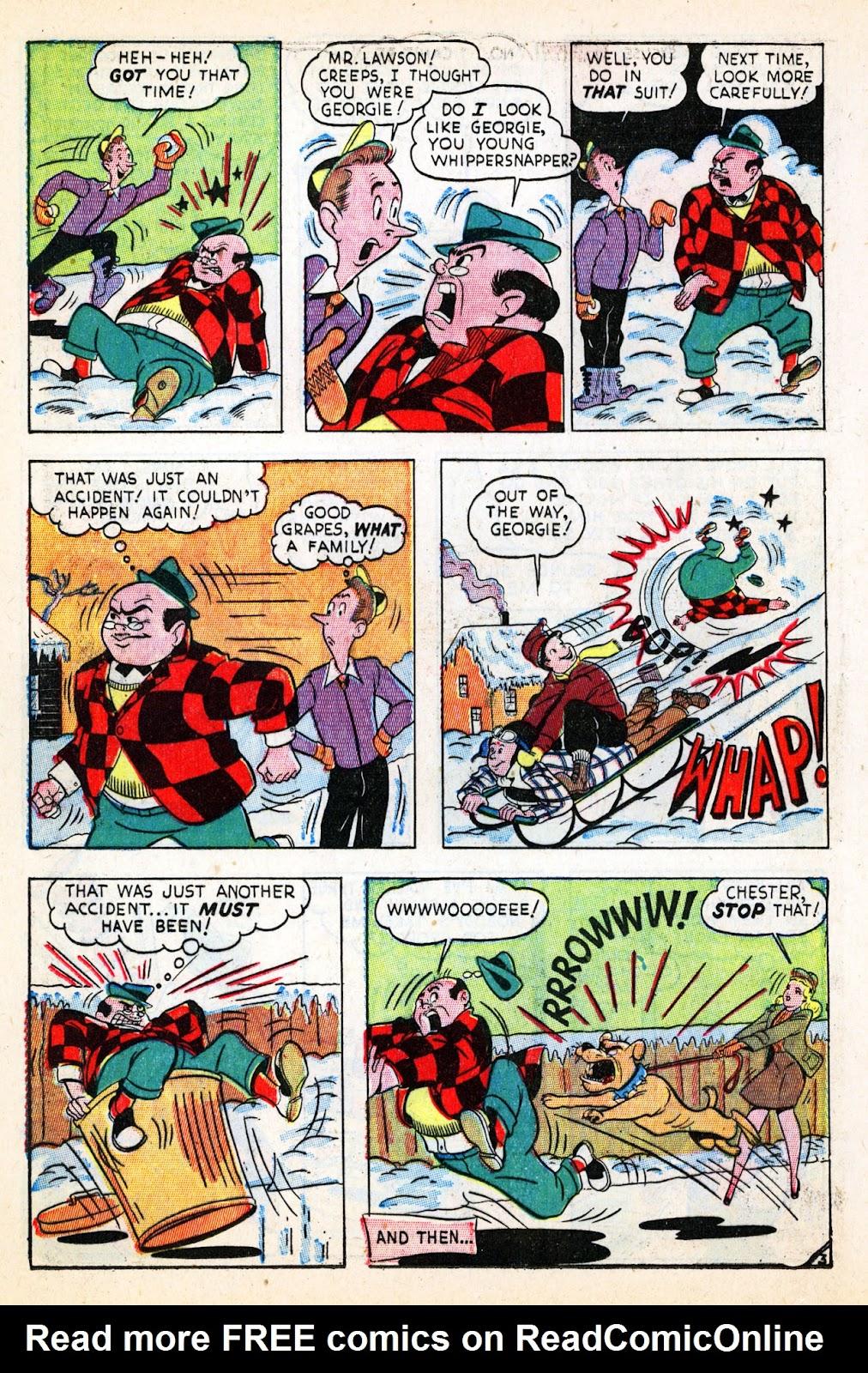 Georgie Comics (1945) issue 17 - Page 16