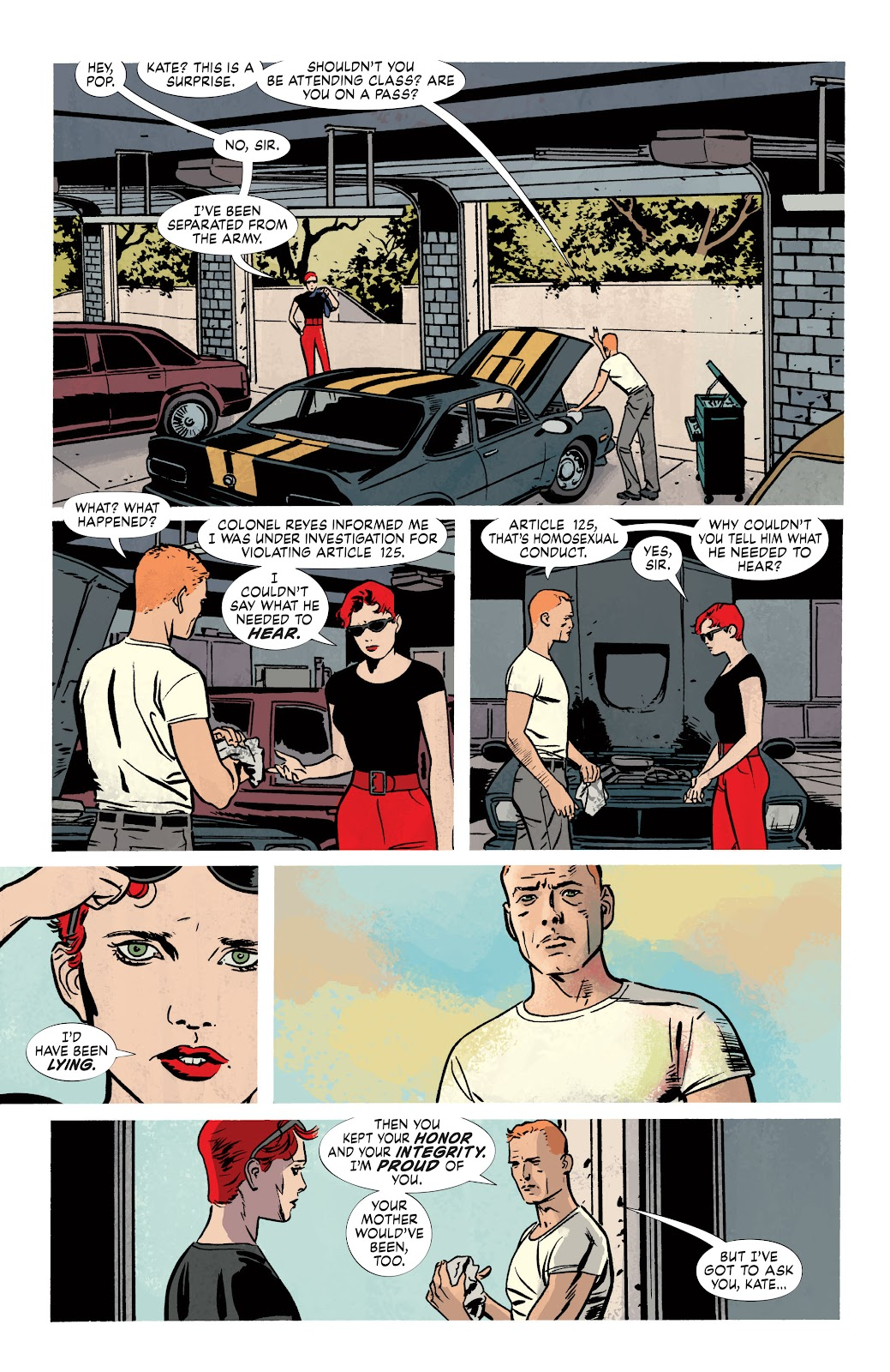Read online Detective Comics (1937) comic -  Issue # _TPB Batwoman – Elegy (New Edition) (Part 2) - 11