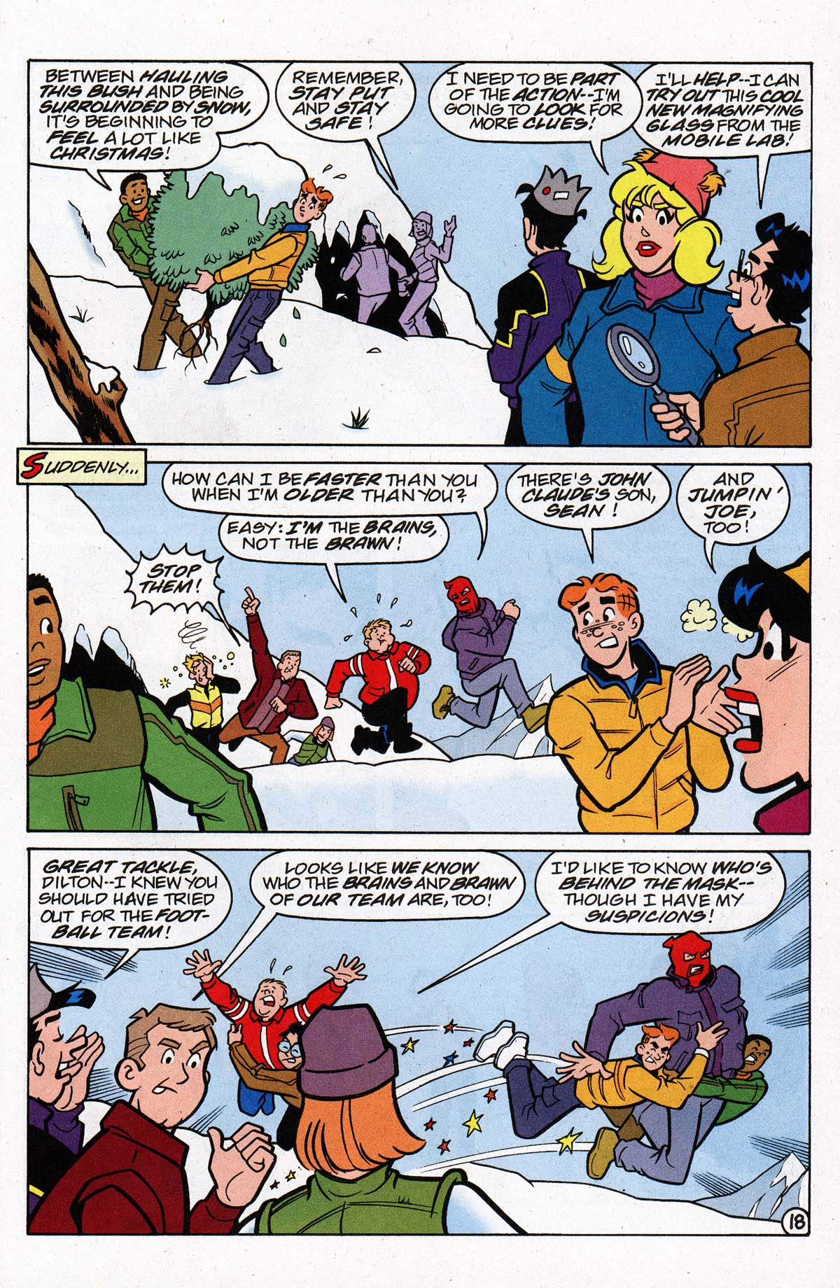 Read online Archie's Weird Mysteries comic -  Issue #26 - 24