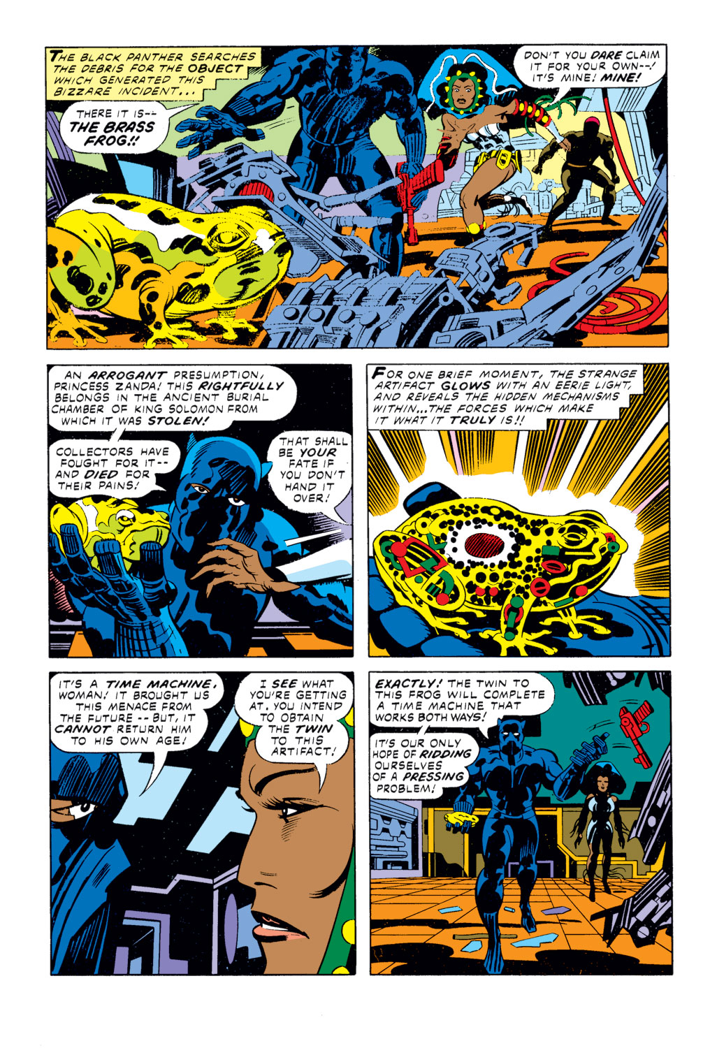Black Panther (1977) issue 2 - Page 7
