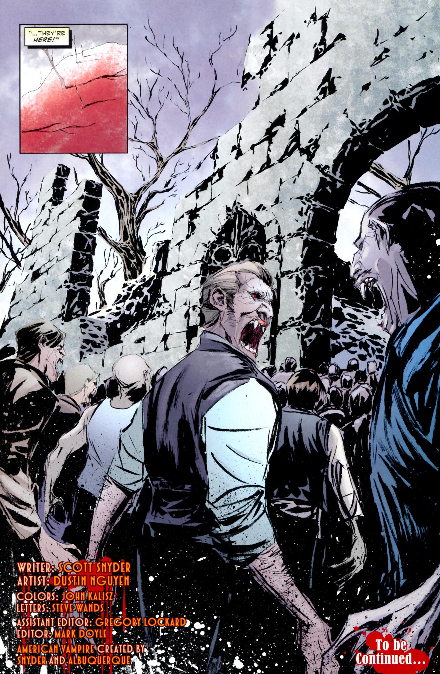 Read online American Vampire: Lord of Nightmares comic -  Issue #3 - 31