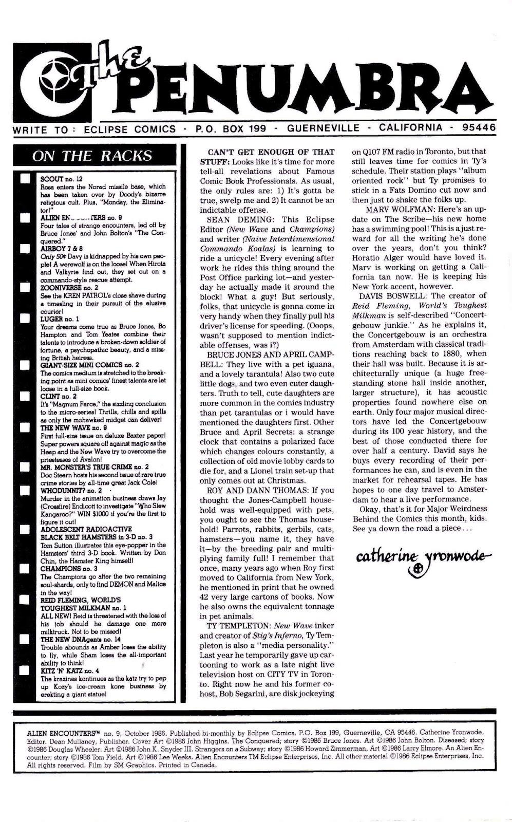 Alien Encounters 9 Page 2