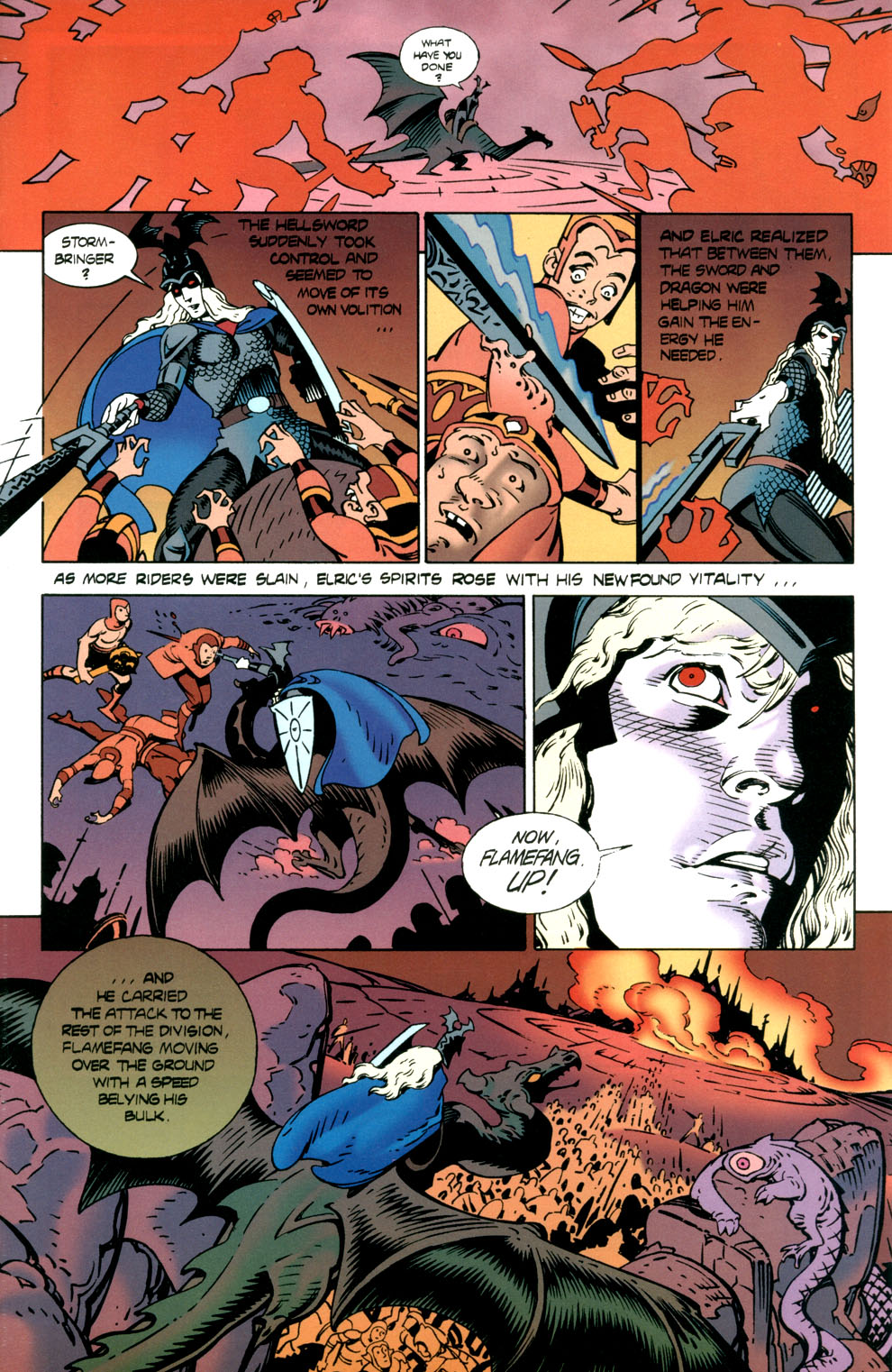 Read online Elric: Stormbringer comic -  Issue #7 - 5