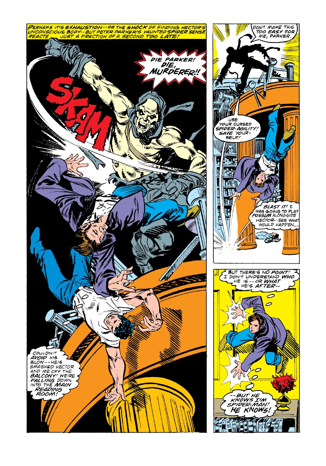 Read online Marvel Masterworks: The Spectacular Spider-Man comic -  Issue # TPB 2 (Part 3) - 41