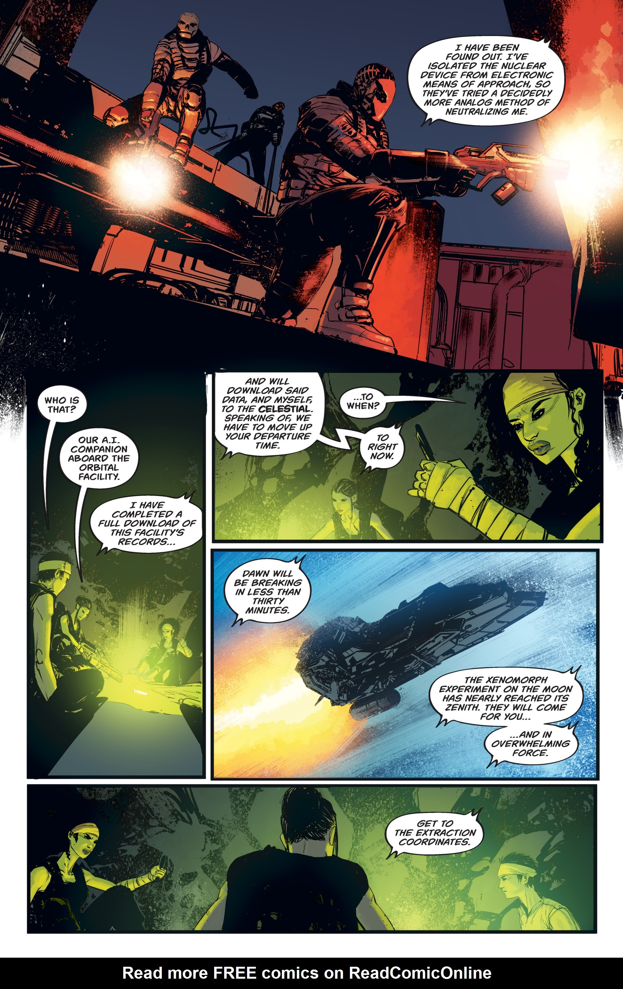 Read online Aliens: Resistance comic -  Issue # _TPB - 83